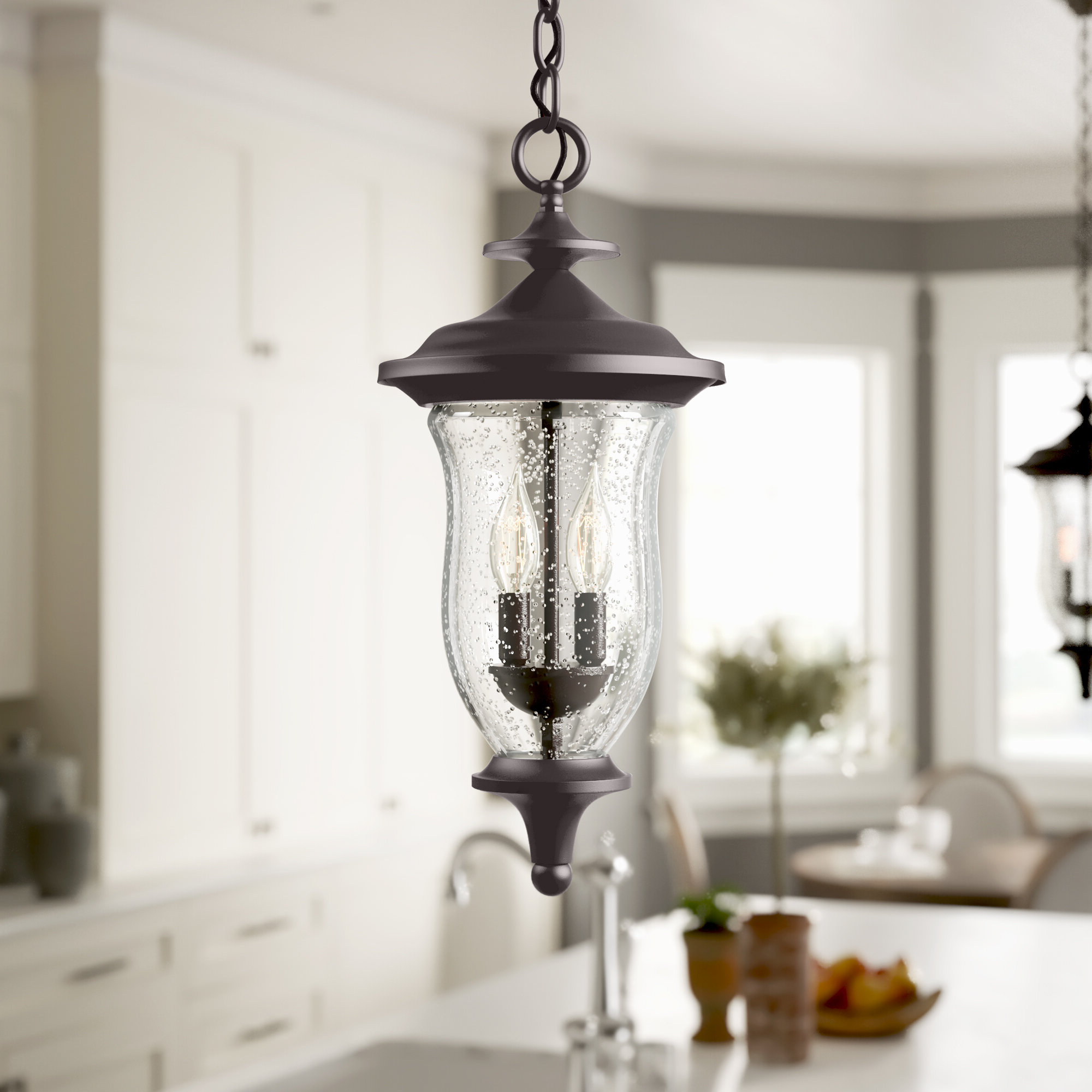 Most Current Quarry 2 Light Urn Pendant Throughout Terry 1 Light Single Bell Pendants (View 14 of 25)
