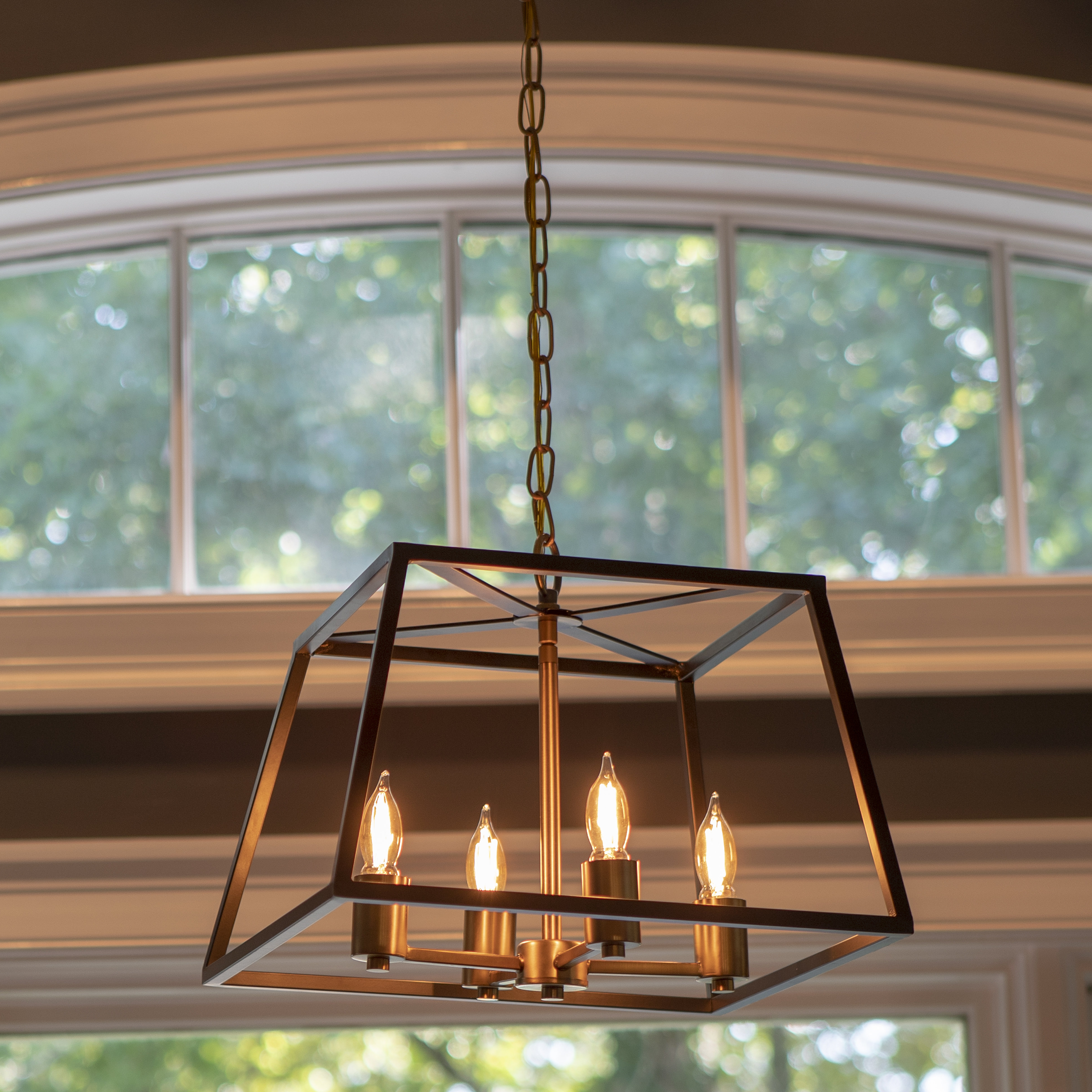 Most Current Richville 4 Light Square Chandelier Pertaining To Delon 4 Light Square Chandeliers (View 7 of 25)