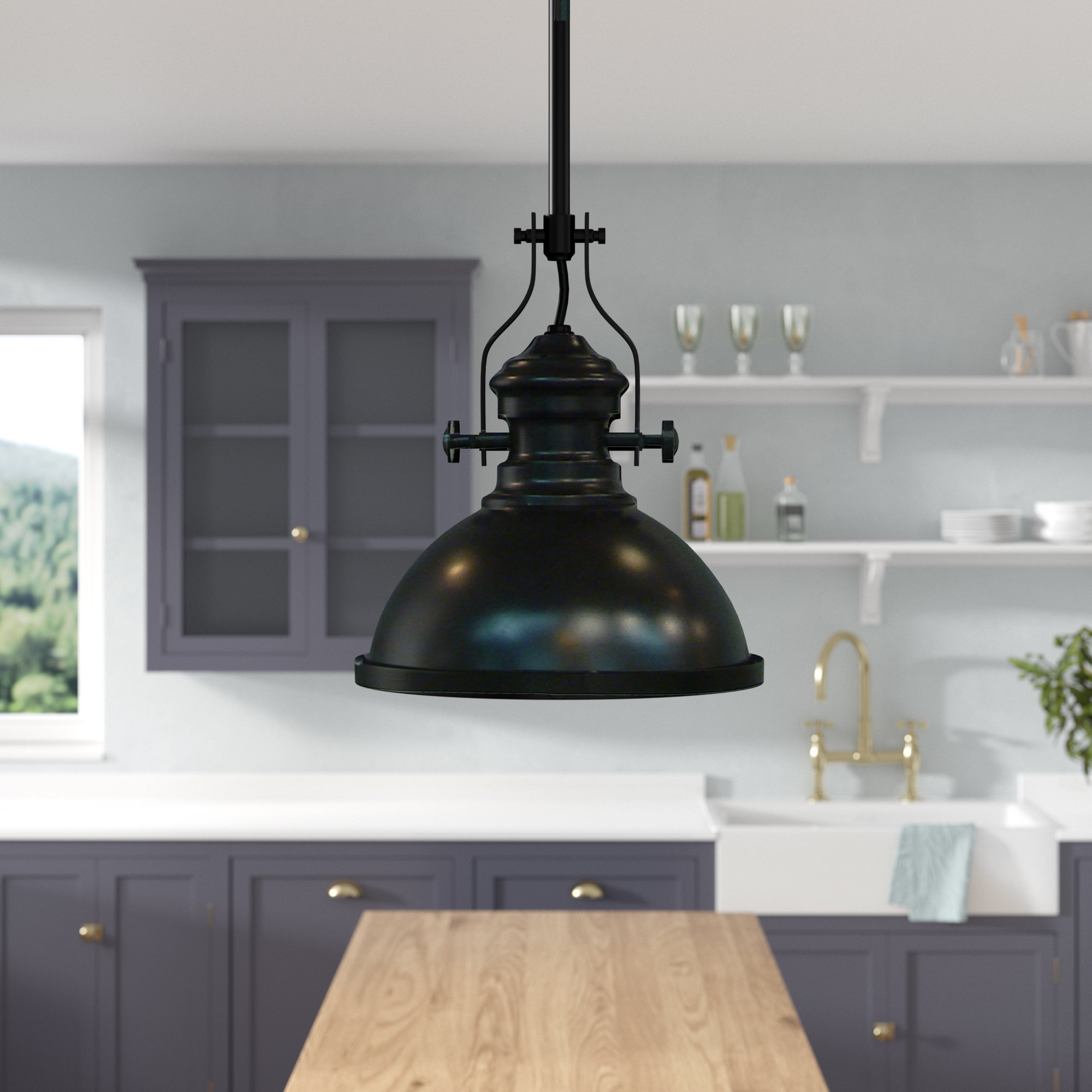 Most Current Sorrells 1 Light Single Dome Pendant With Regard To Hamilton 1 Light Single Dome Pendants (View 10 of 25)