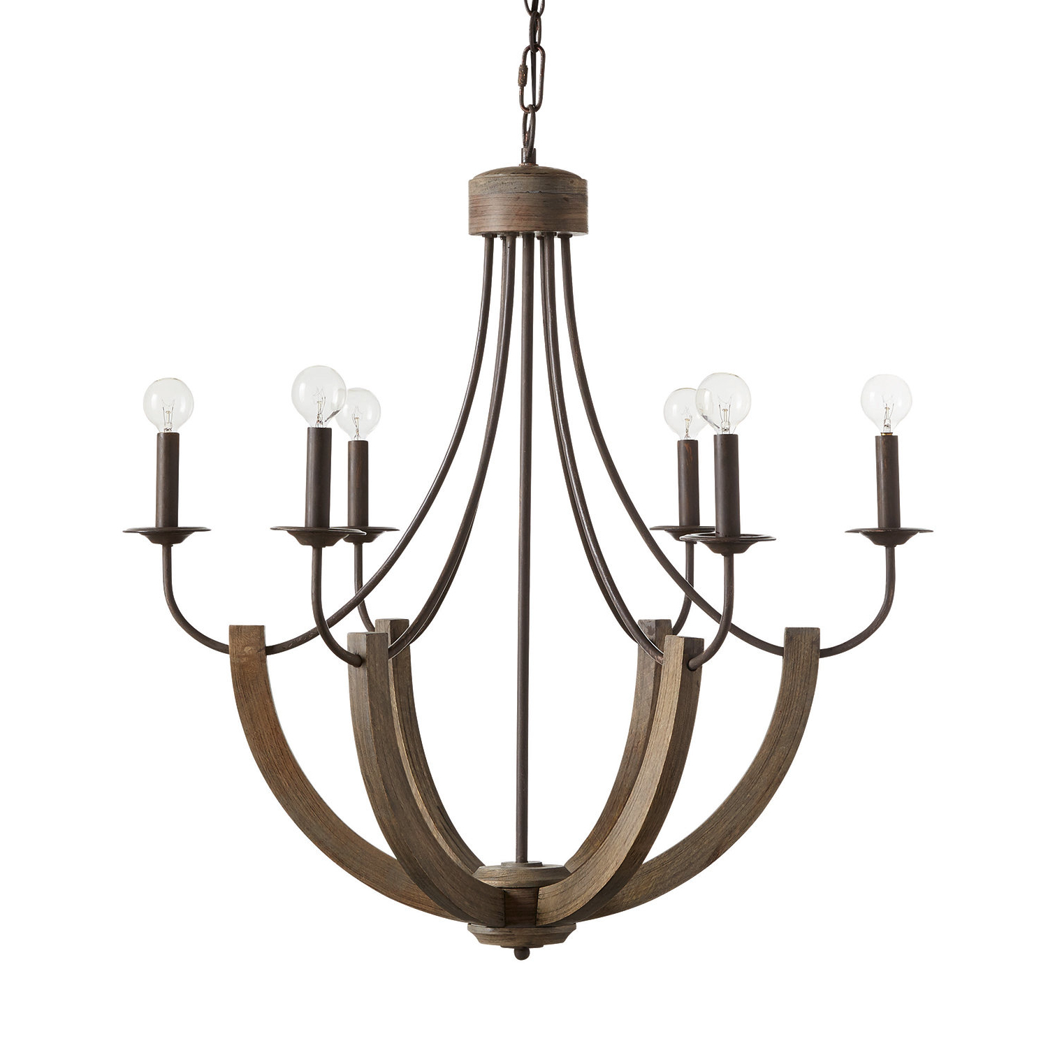 Most Current Verona 6 Light Candle Style Chandelier Pertaining To Armande Candle Style Chandeliers (View 17 of 25)