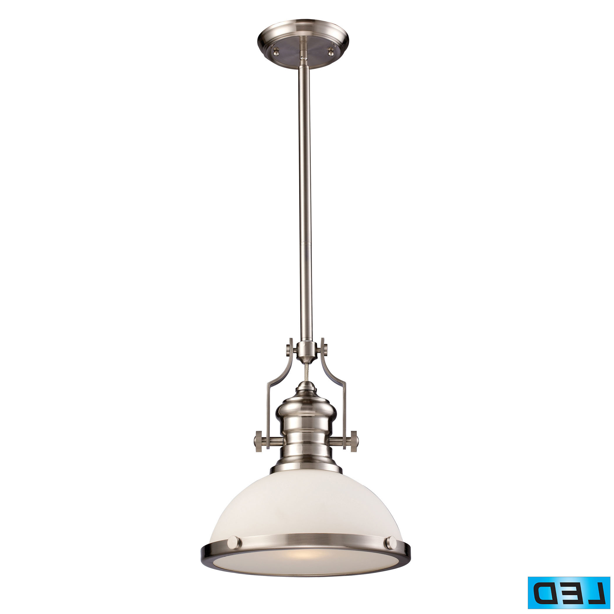 Most Popular 1 Light Single Dome Pendants Within Priston 1 Light Single Dome Pendant (View 25 of 25)