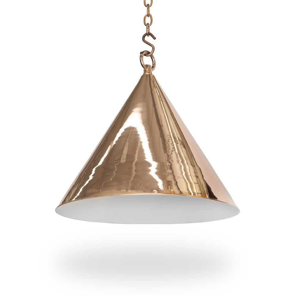 "Most Popular 15"" Diameter Cone Light – Ann Morris – Custom Lighting With Regard To Moris 1 Light Cone Pendants (View 10 of 25)"