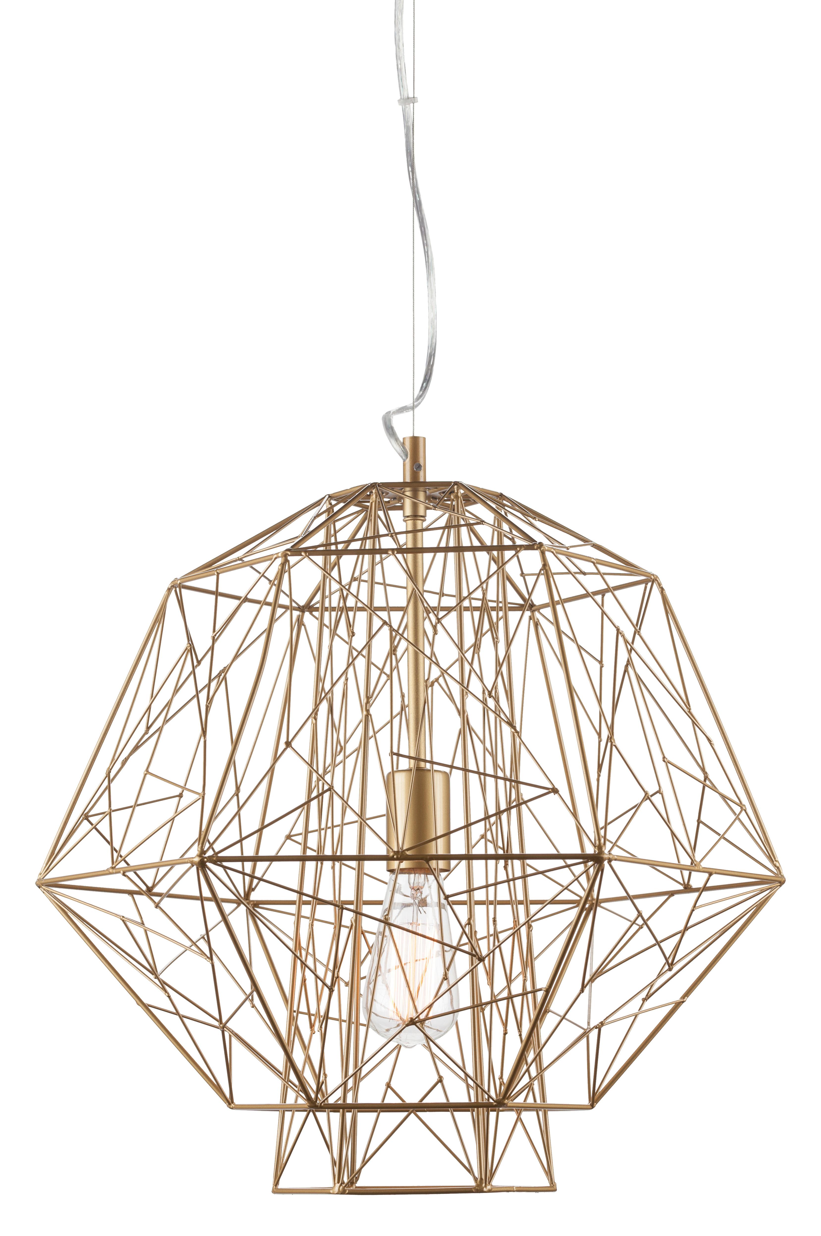 Featured Photo of Hydetown 1 Light Single Geometric Pendants