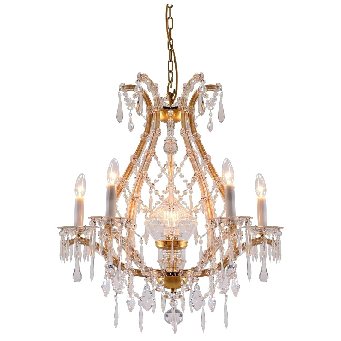 Most Popular Iron And Crystal Chandelier – Ozieaquilar (View 15 of 25)