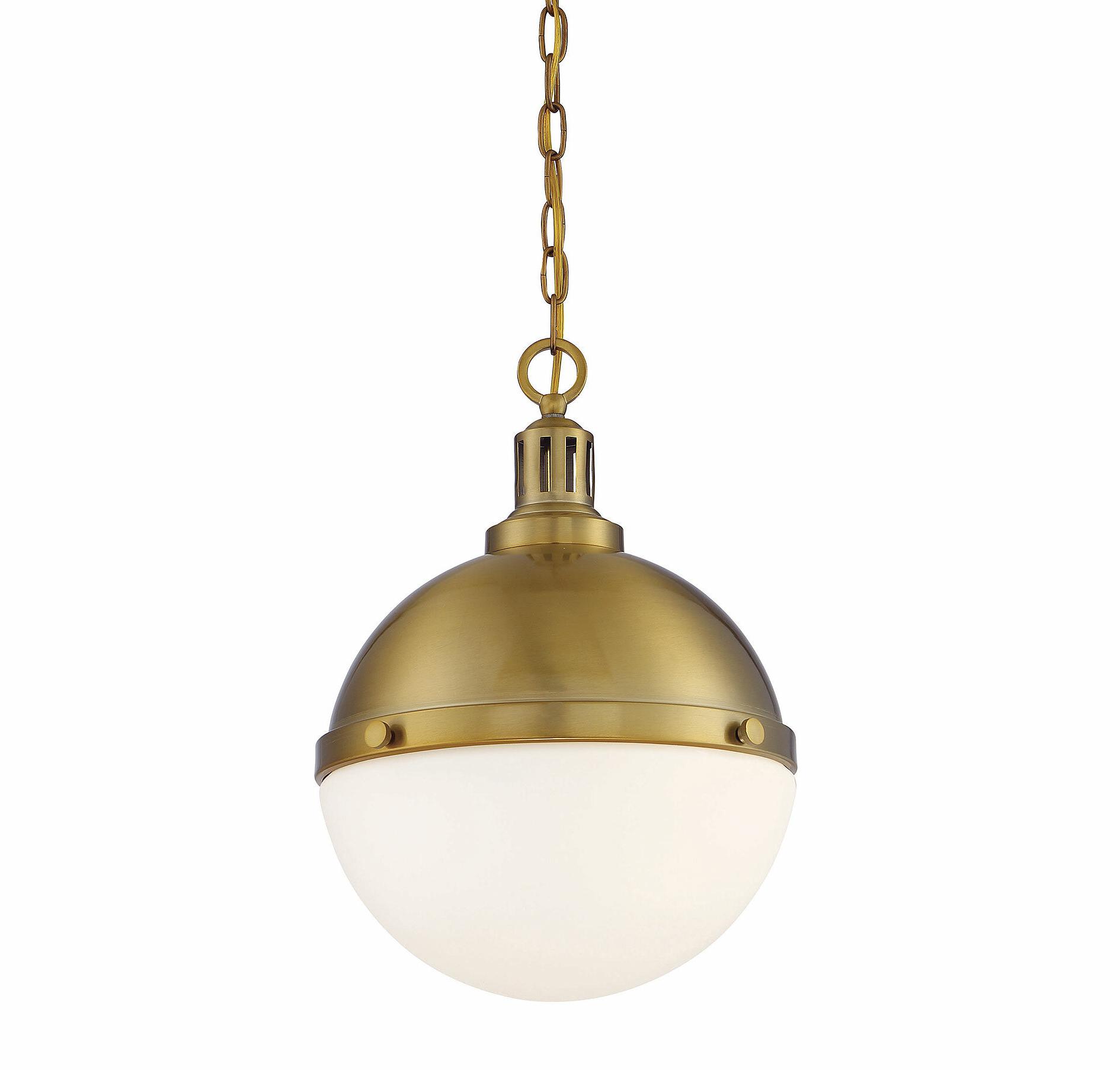 Most Popular Landrum 2 Light Single Globe Pendant Regarding Amara 2 Light Dome Pendants (View 5 of 25)