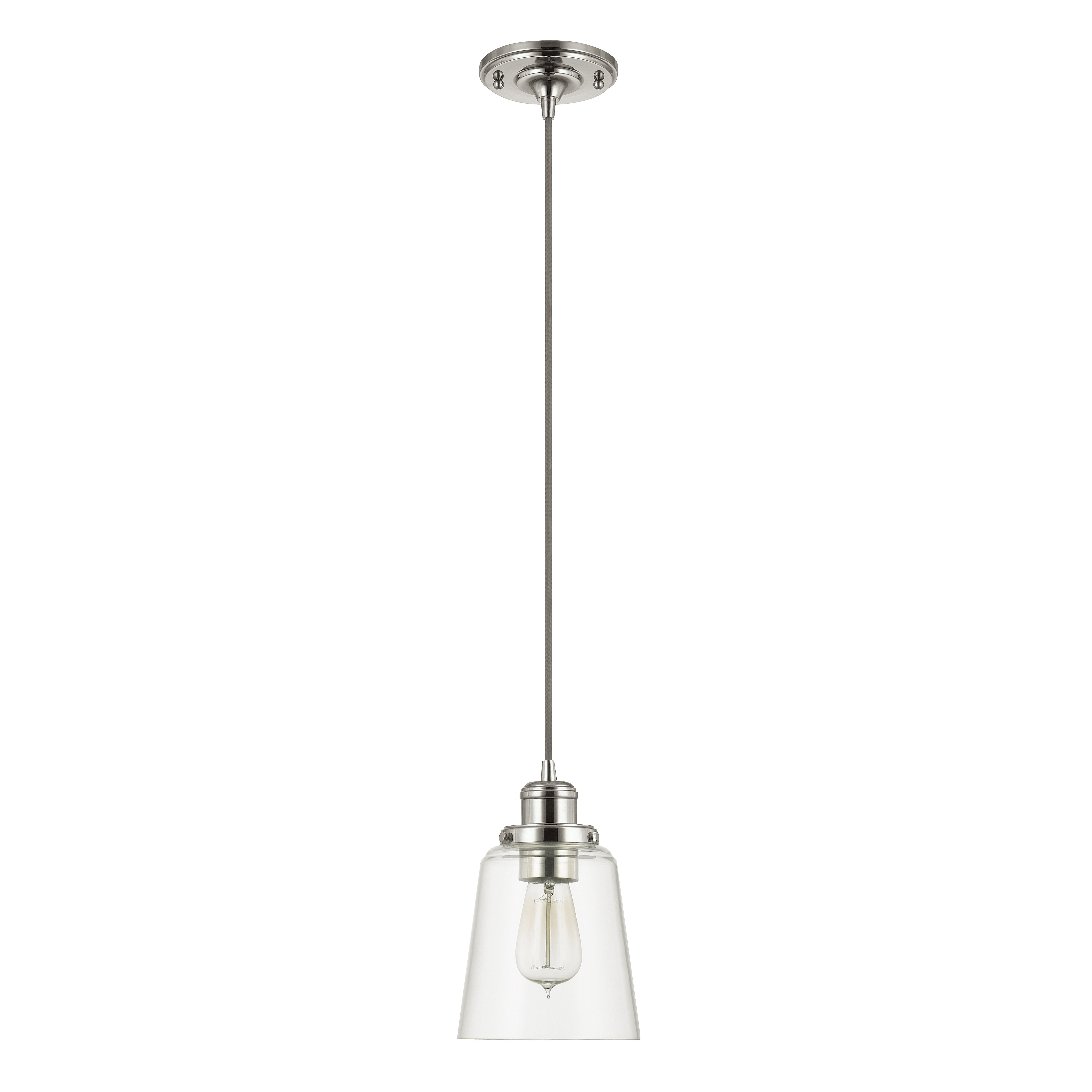 Most Recent Carey 1 Light Single Bell Pendants Throughout Birch Lane™ Heritage 1 Light Single Bell Pendant (View 19 of 25)