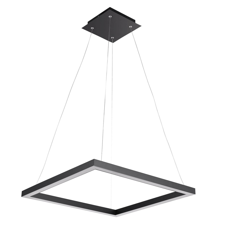 Most Recent Heflin 1 Light Led Single Square Pendant Pertaining To Callington 1 Light Led Single Geometric Pendants (View 13 of 25)
