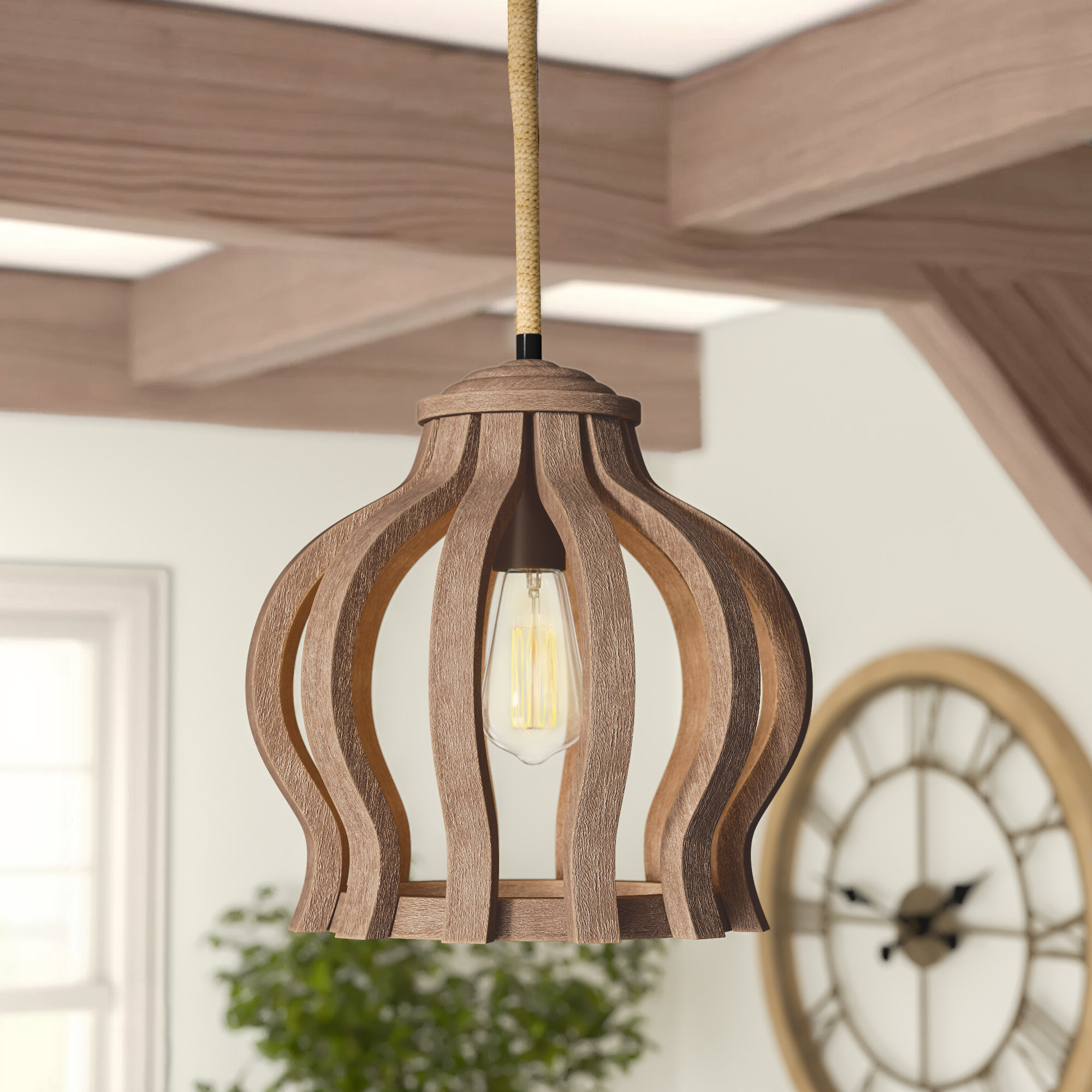 Most Recent Isidoro 1 Light Single Geometric Pendant With Van Horne 3 Light Single Teardrop Pendants (View 12 of 25)