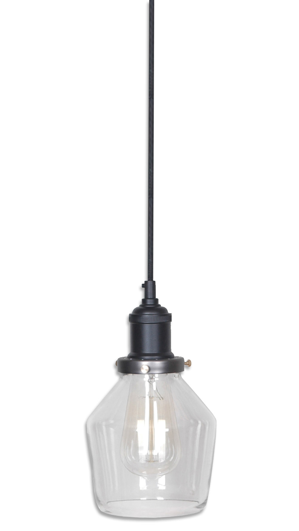 Most Recent Kitts 1 Light Single Bell Pendant Regarding Roslindale 1 Light Single Bell Pendants (View 11 of 25)
