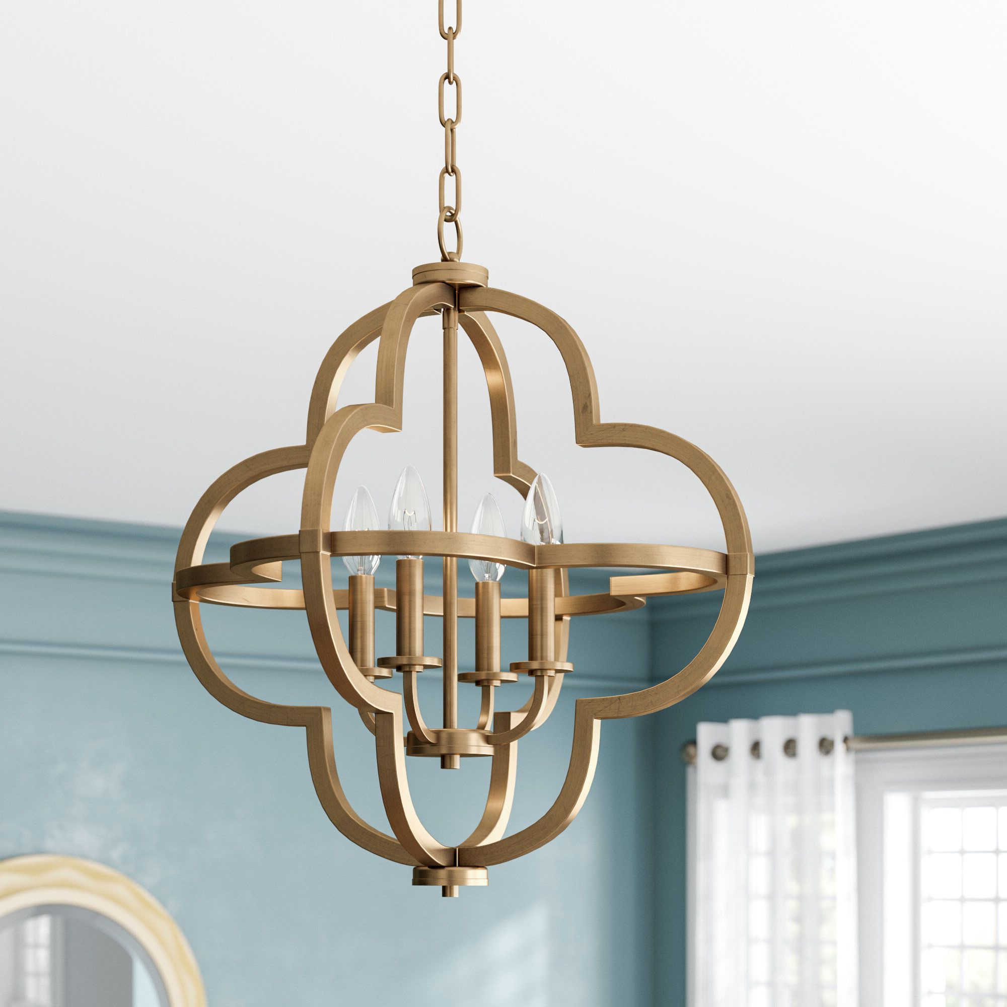 Most Recent Middleton 4 Light Pendant (View 19 of 25)