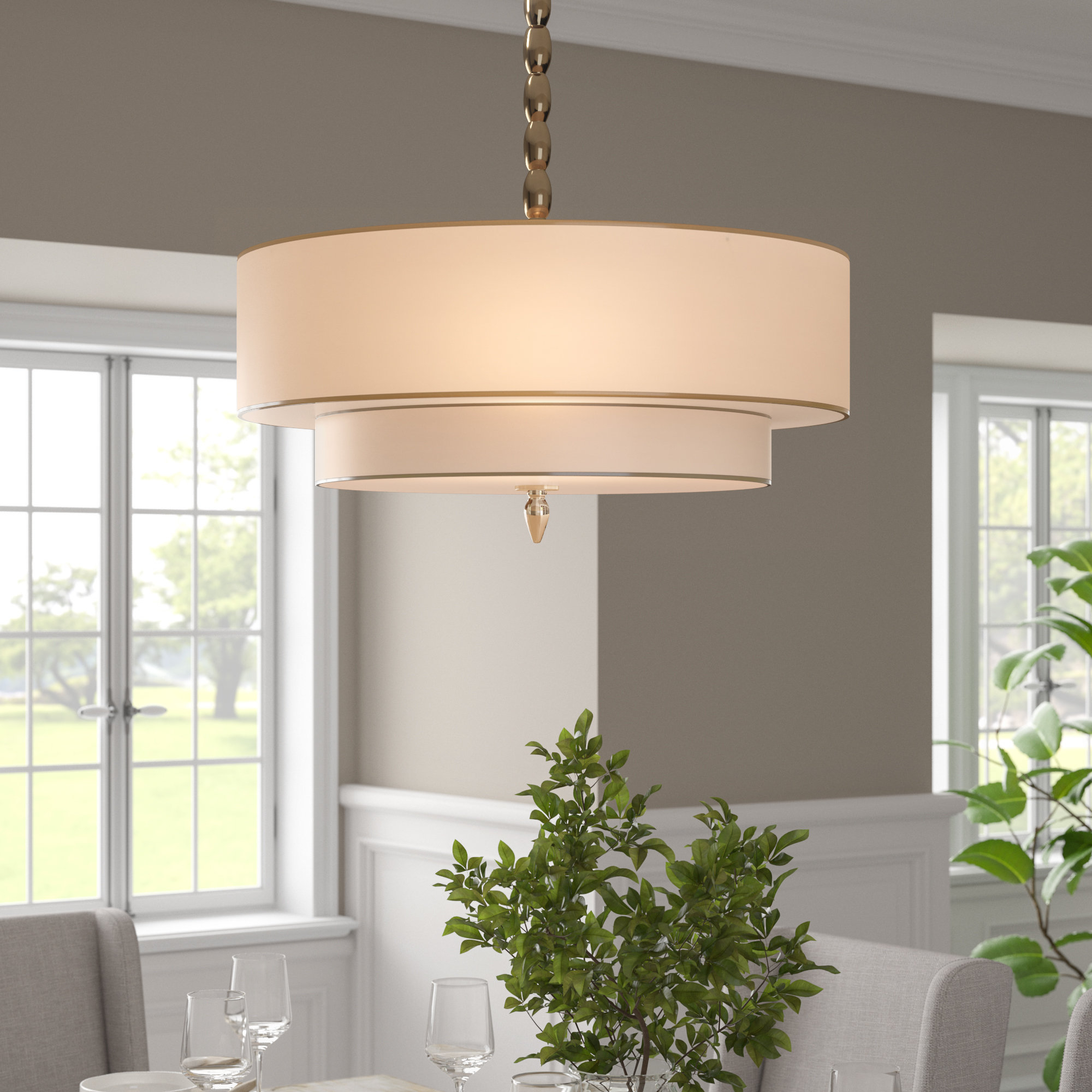 Most Recent Stauffer 5 Light Drum Chandelier In Alina 5 Light Drum Chandeliers (View 22 of 25)