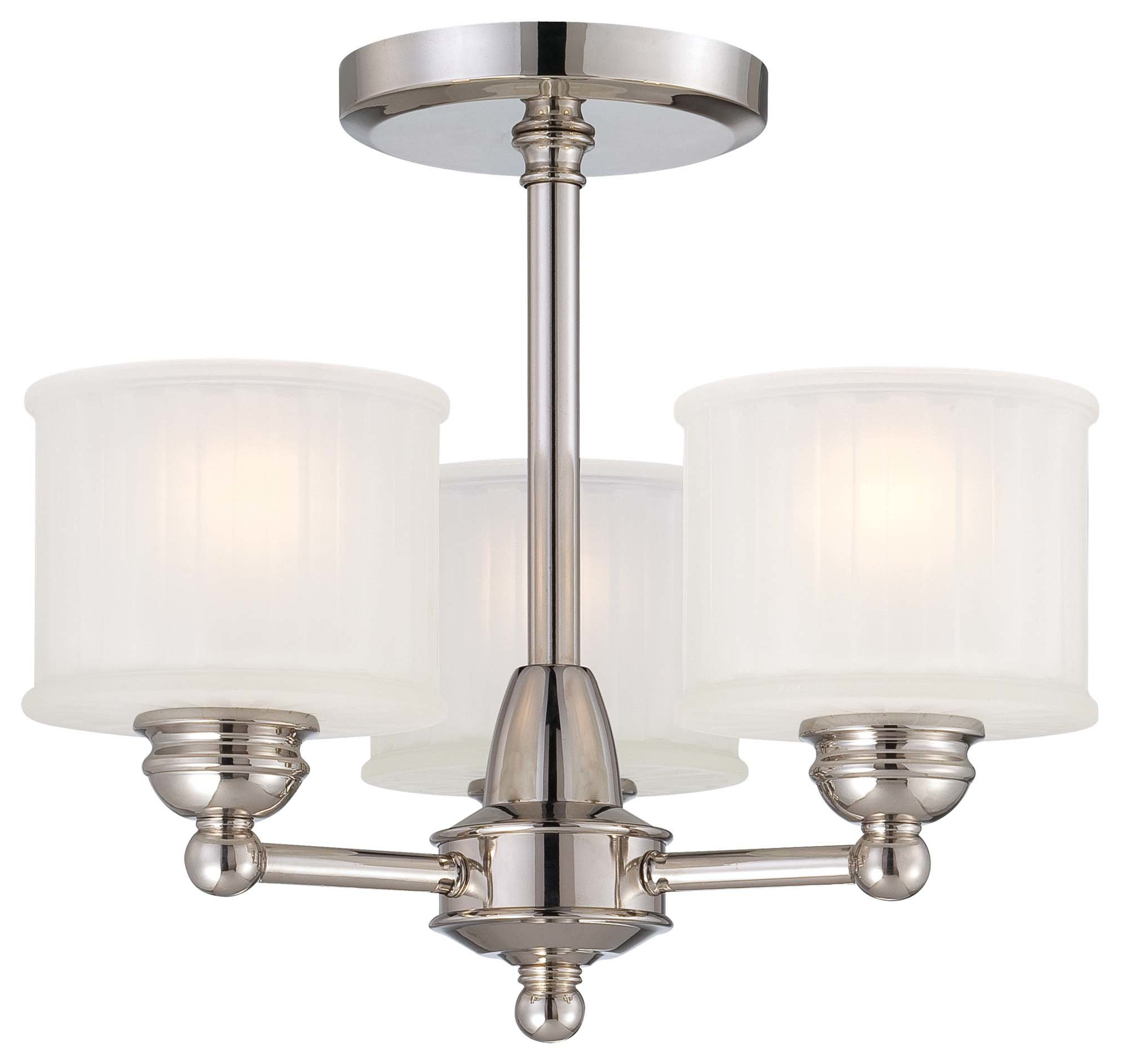 Most Recently Released Alayna 4 Light Shaded Chandeliers Regarding Nashville 3 Light Shaded Chandelier (View 19 of 25)