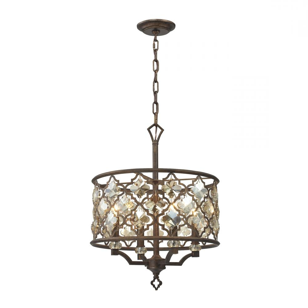 Most Recently Released Armande 4 Light Lantern Drum Pendants For Armand 4 Light : Vnvf (View 22 of 25)