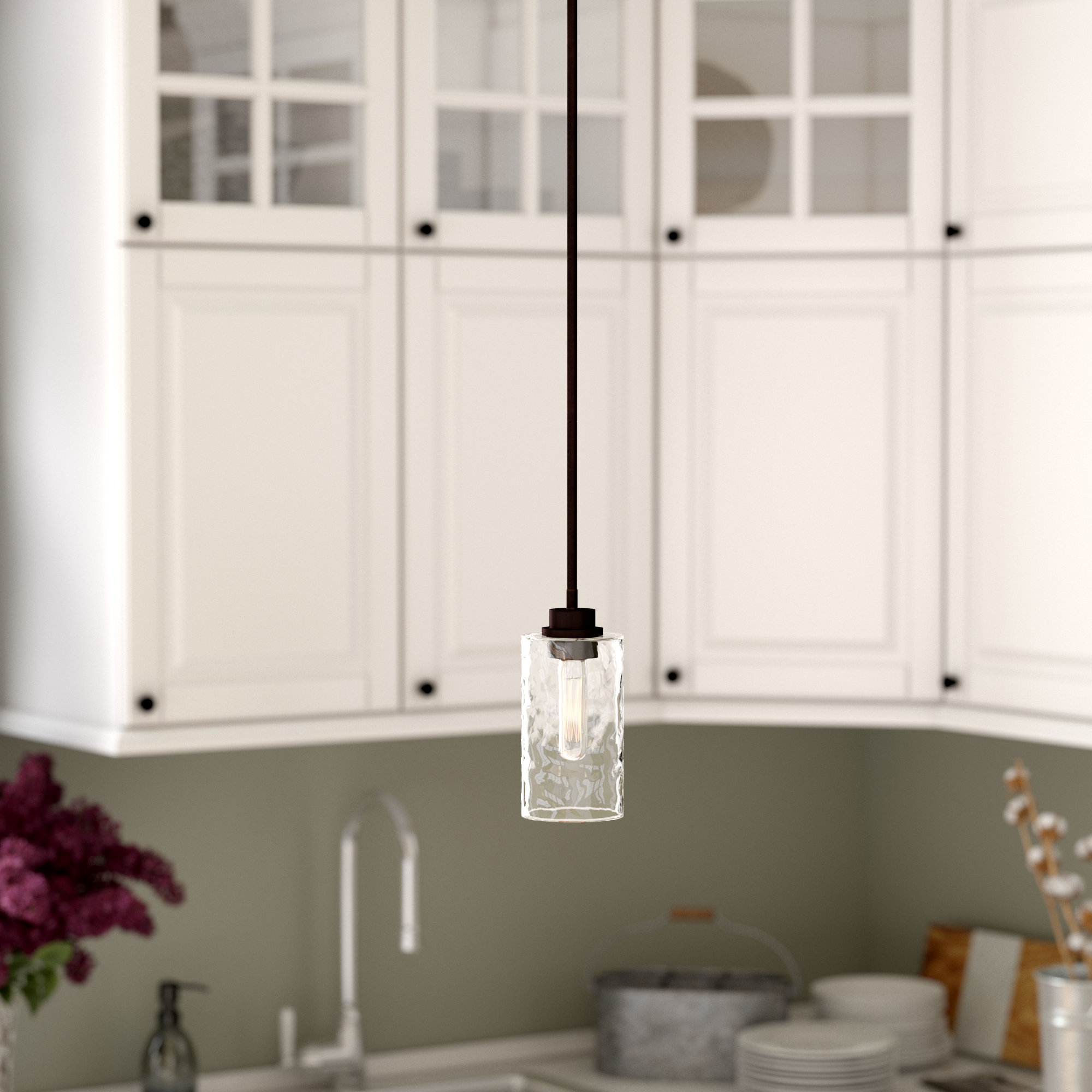 Most Recently Released Cinchring 1 Light Cone Pendants Pertaining To Westhope 1 Light Cylinder Pendant (View 19 of 25)