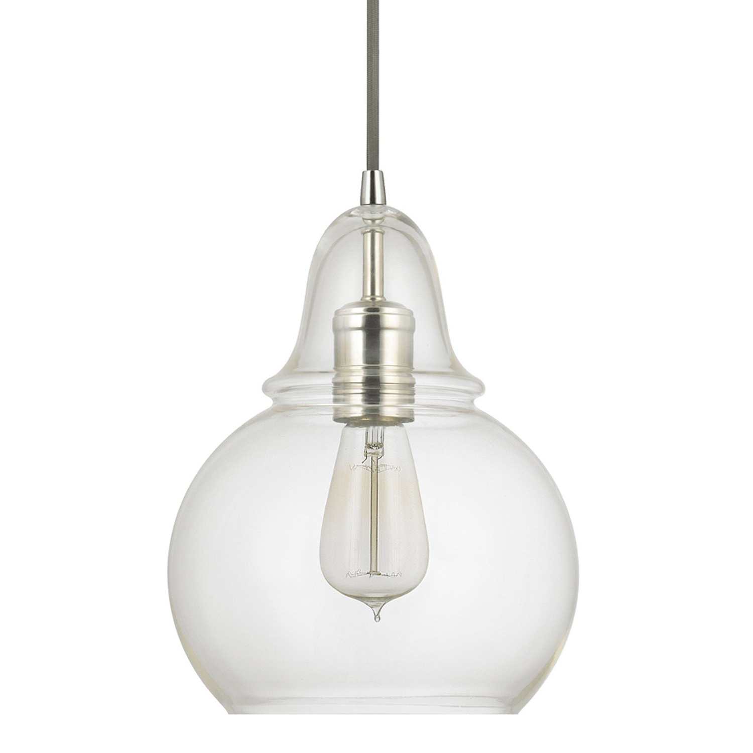 Most Recently Released Conard 1 Light Single Teardrop Pendants Regarding Conard 1 Light Single Bell Pendant (View 8 of 25)