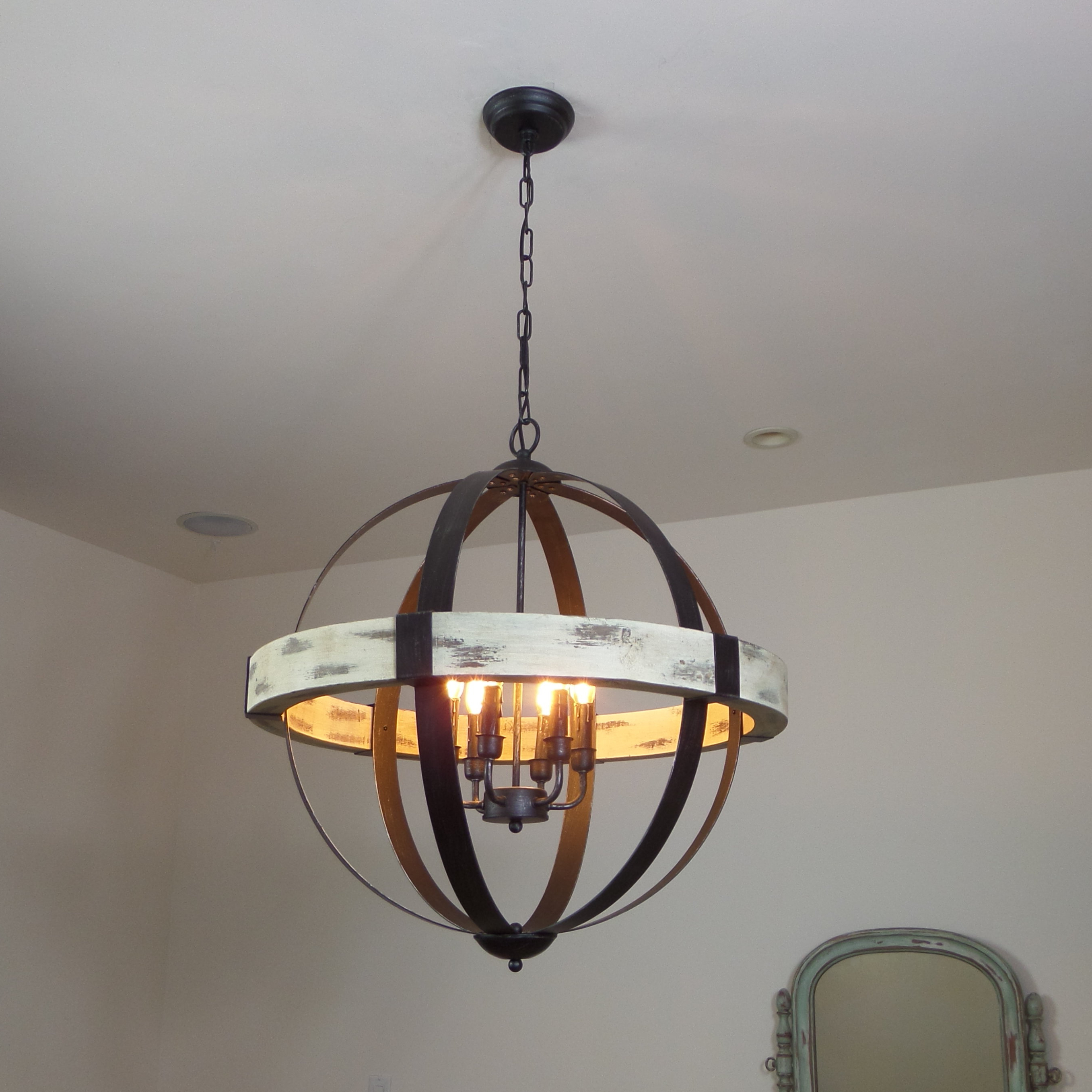 Most Recently Released Donna 6 Light Globe Chandeliers Pertaining To Cannella 6 Light Globe Chandelier (View 18 of 25)