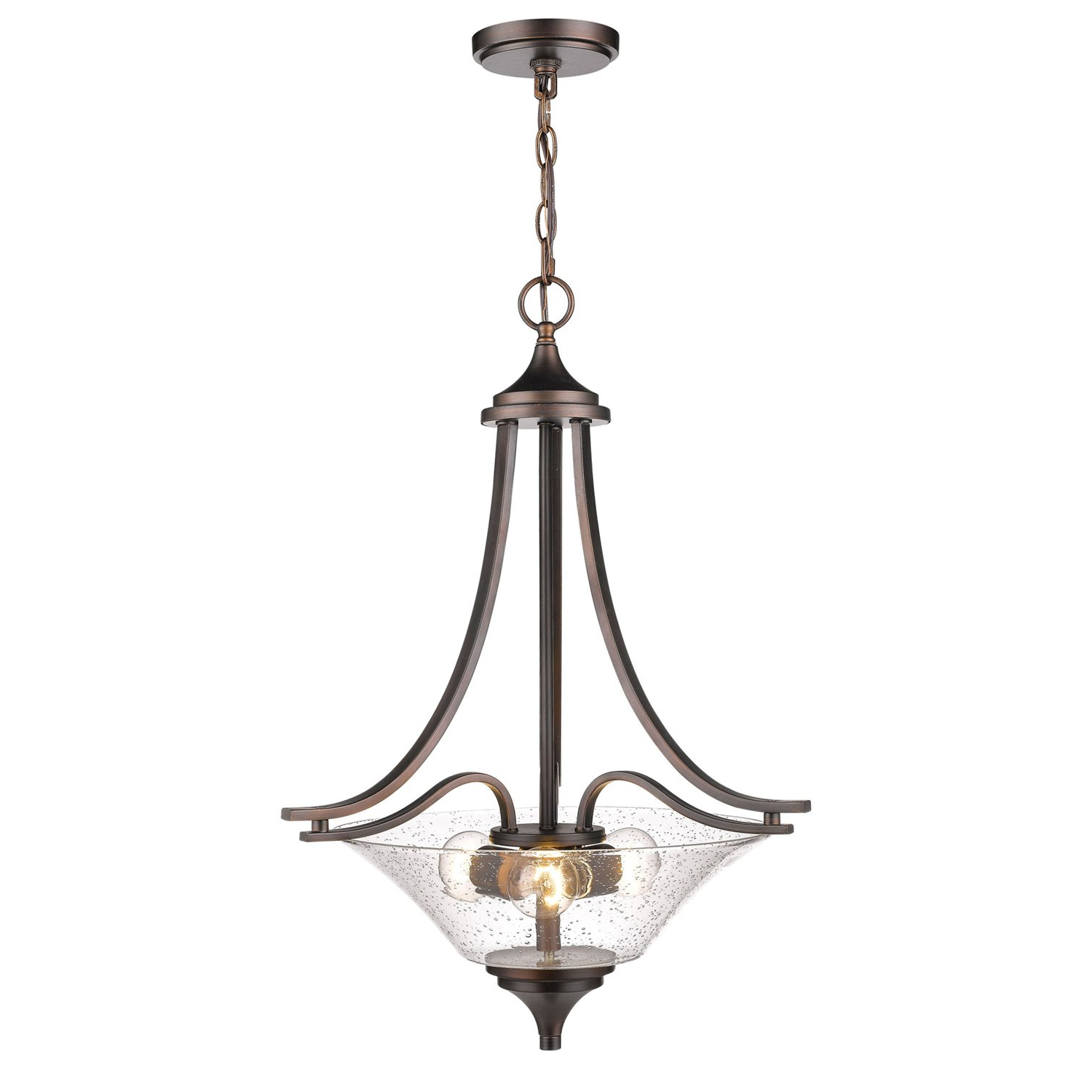 Most Recently Released Elaina 3 Light Single Bowl Pendant For Van Horne 3 Light Single Teardrop Pendants (View 11 of 25)