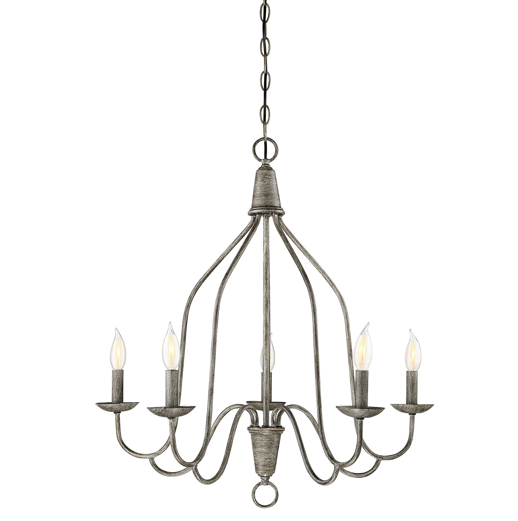 Most Recently Released Florentina 5 Light Candle Style Chandeliers Throughout Geeta 5 Light Candle Style Chandelier (View 9 of 25)