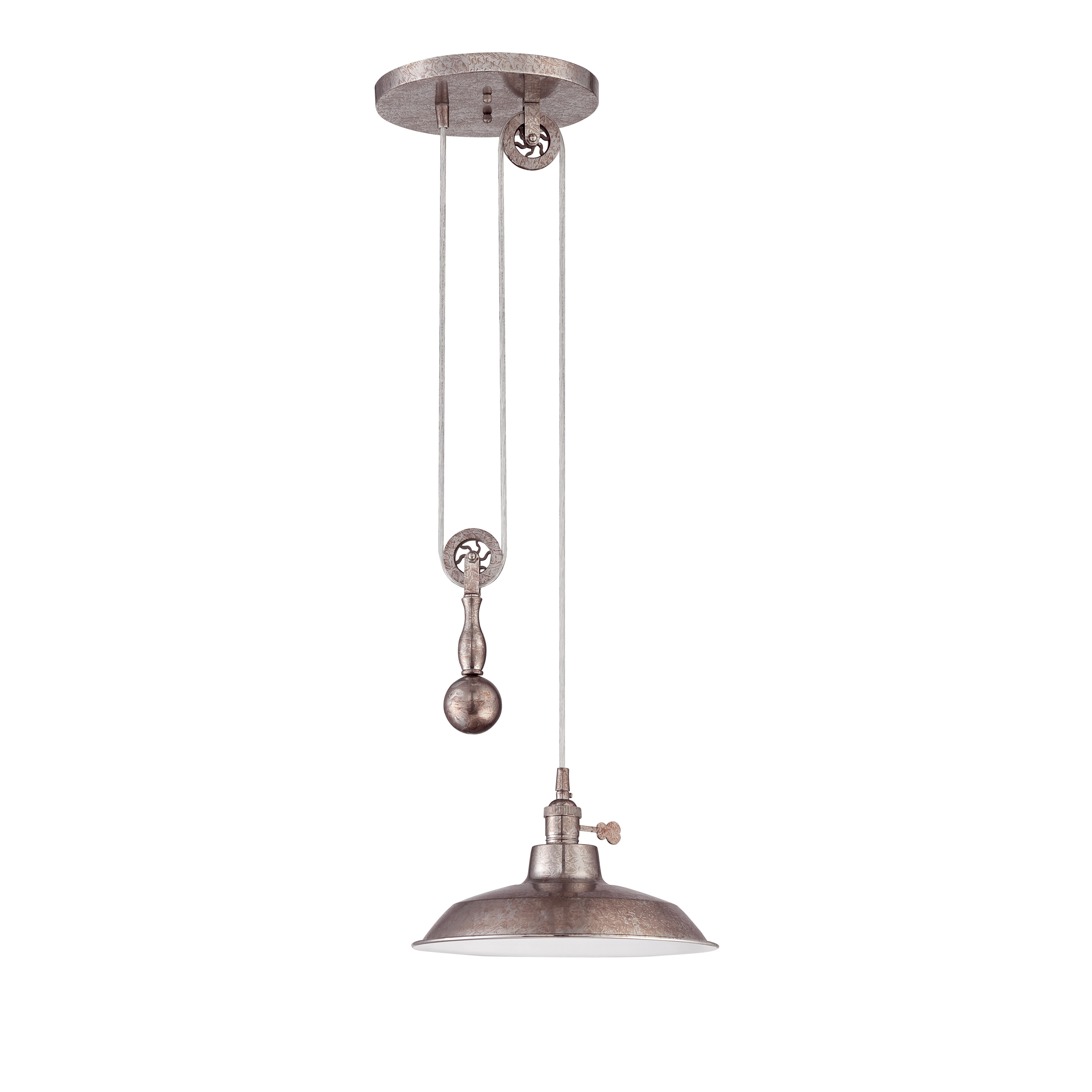 Most Recently Released Jeremiah Pulley 1 Light Mini Pendant (View 21 of 25)