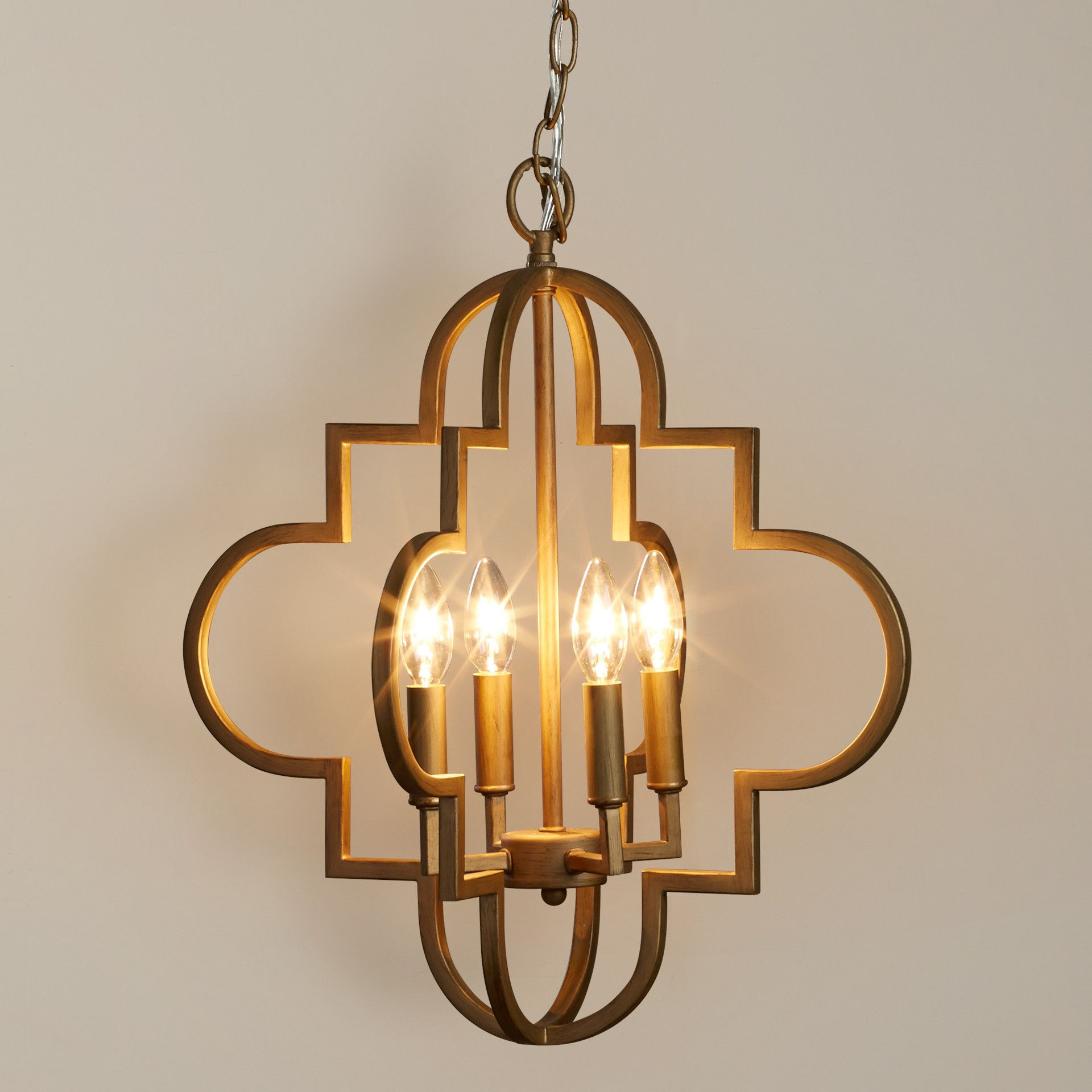 Most Recently Released Kaycee 4 Light Geometric Chandeliers With House Of Hampton Aldridge 4 Light Pendant & Reviews (View 15 of 25)
