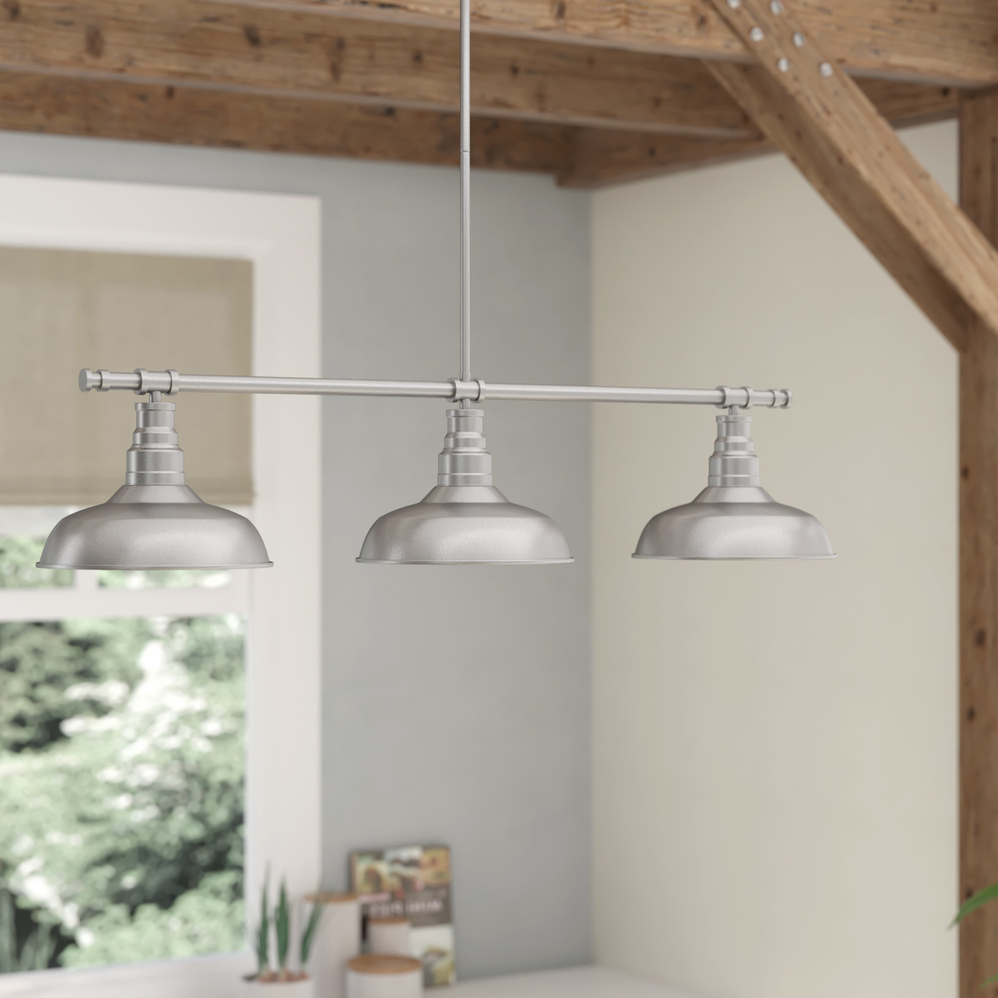Most Recently Released Martinique 3 Light Kitchen Island Dome Pendants With Stephine 3 Light Kitchen Island Pendant (View 17 of 25)