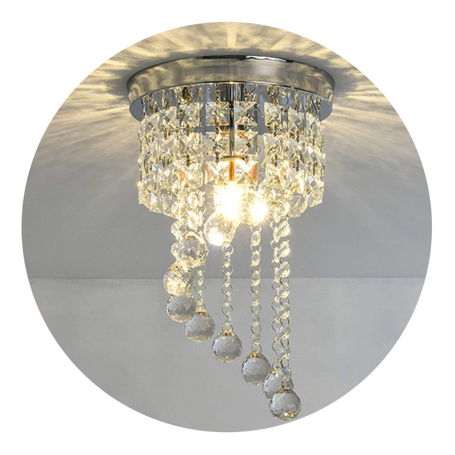 Most Recently Released Modern Led Bulb Ceiling Light Pendant Fixture Lighting Crystal Chandelier Pertaining To Sinead 4 Light Chandeliers (View 20 of 25)