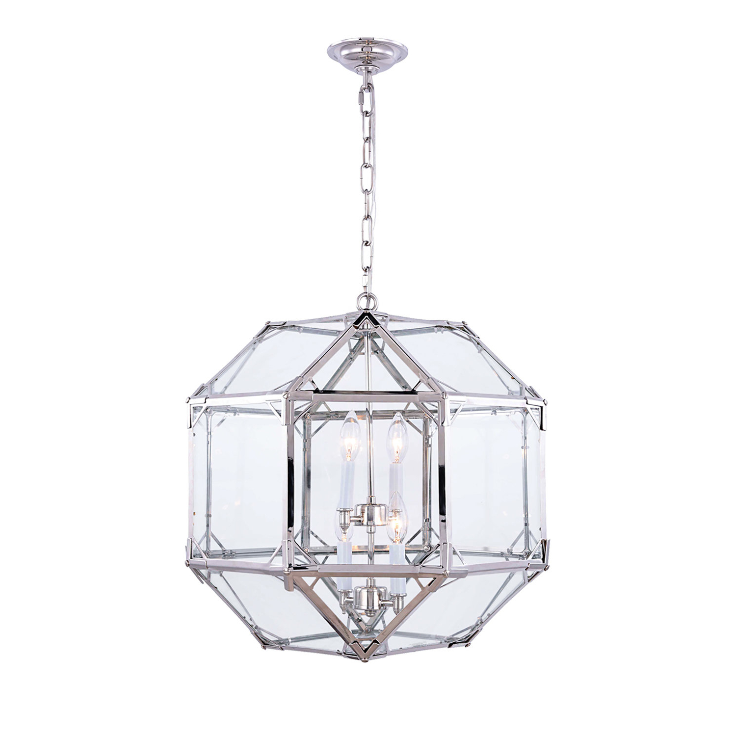Most Recently Released Moritz Octagonal 4 Light Lantern Pendant For Isoline 2 Light Lantern Geometric Pendants (View 19 of 25)