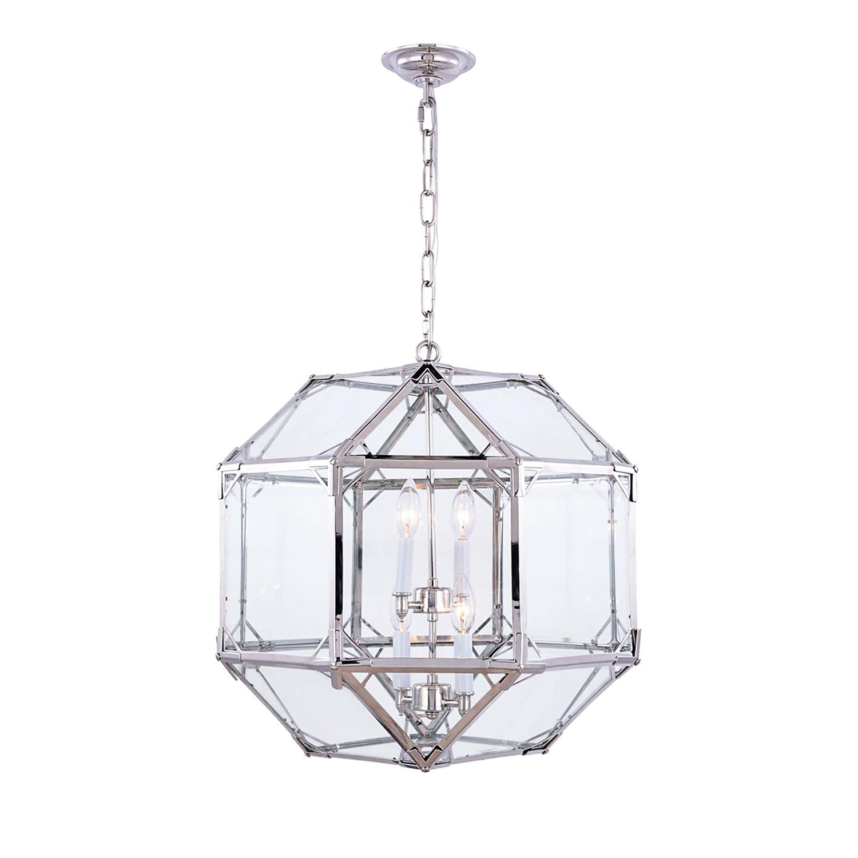Most Recently Released Moritz Octagonal 4 Light Lantern Pendant For Isoline 2 Light Lantern Geometric Pendants (View 15 of 25)