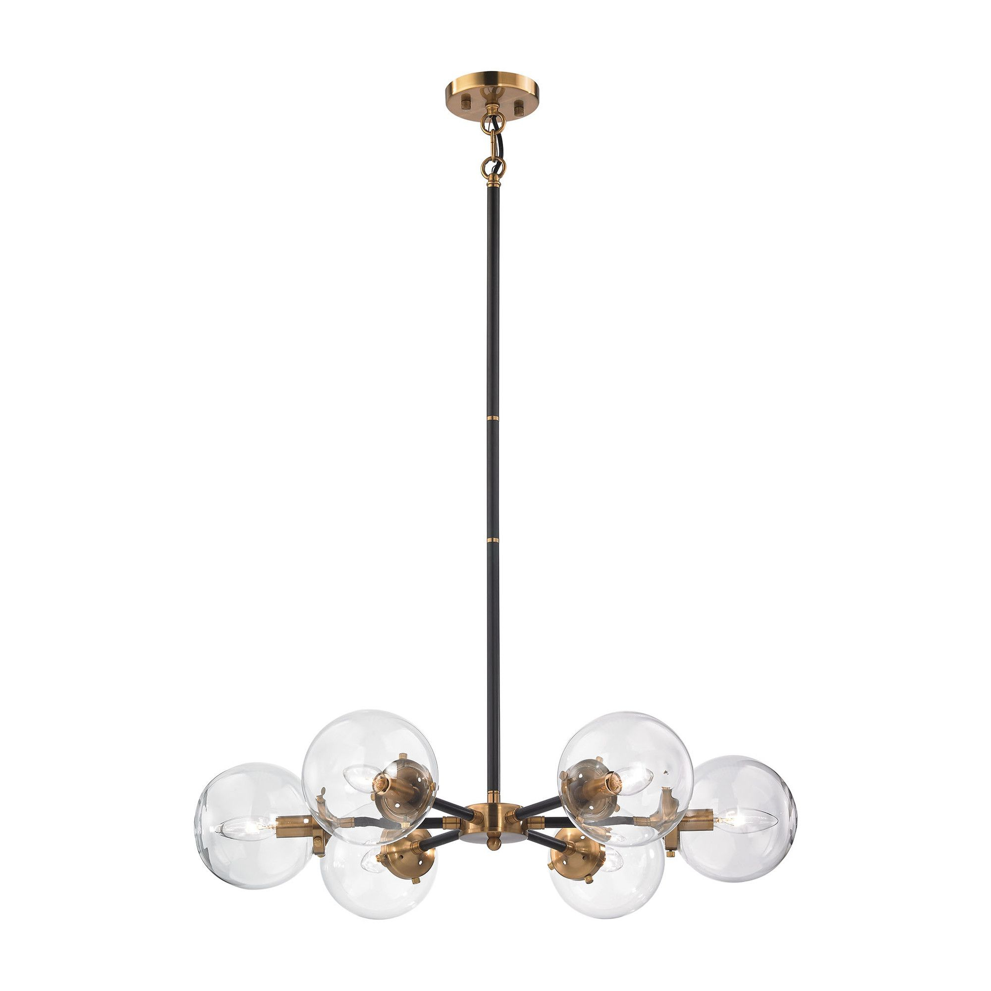 Most Recently Released Silvia 6 Light Sputnik Chandeliers In Grayslake 6 Light Sputnik Chandelier & Reviews (View 8 of 25)