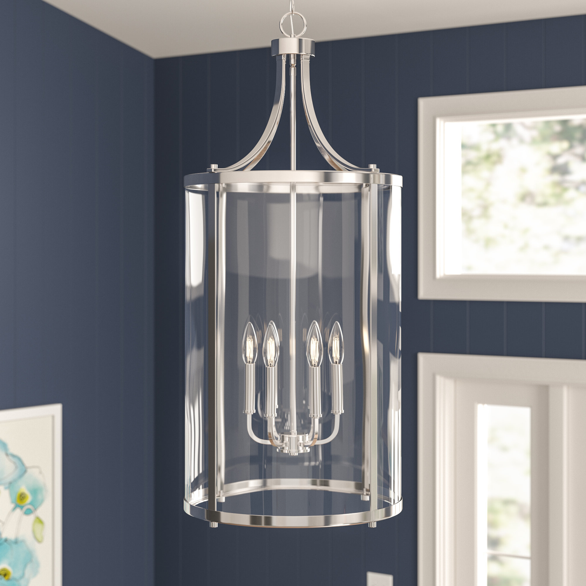Most Recently Released Three Posts Brookville 6 Light Lantern Pendant Intended For Nisbet 6 Light Lantern Geometric Pendants (View 24 of 25)
