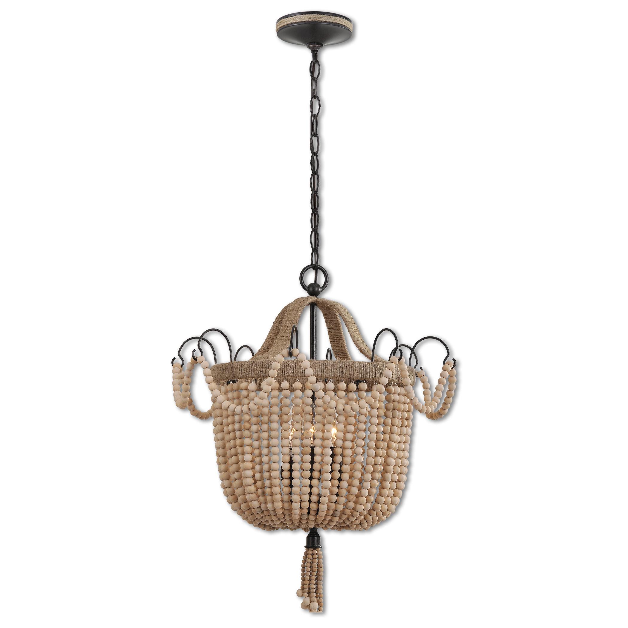 Most Recently Released Verla 3 Light Lantern Bowl Pendant Inside Armande 3 Light Lantern Geometric Pendants (View 10 of 25)