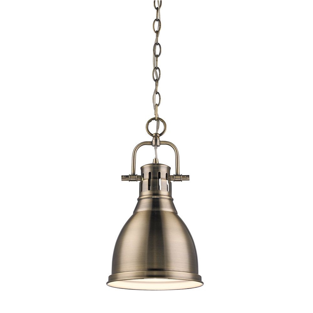 Most Up To Date Bodalla 1 Light Single Bell Pendants For Balden 1 Light Single Bell Pendant (View 22 of 25)