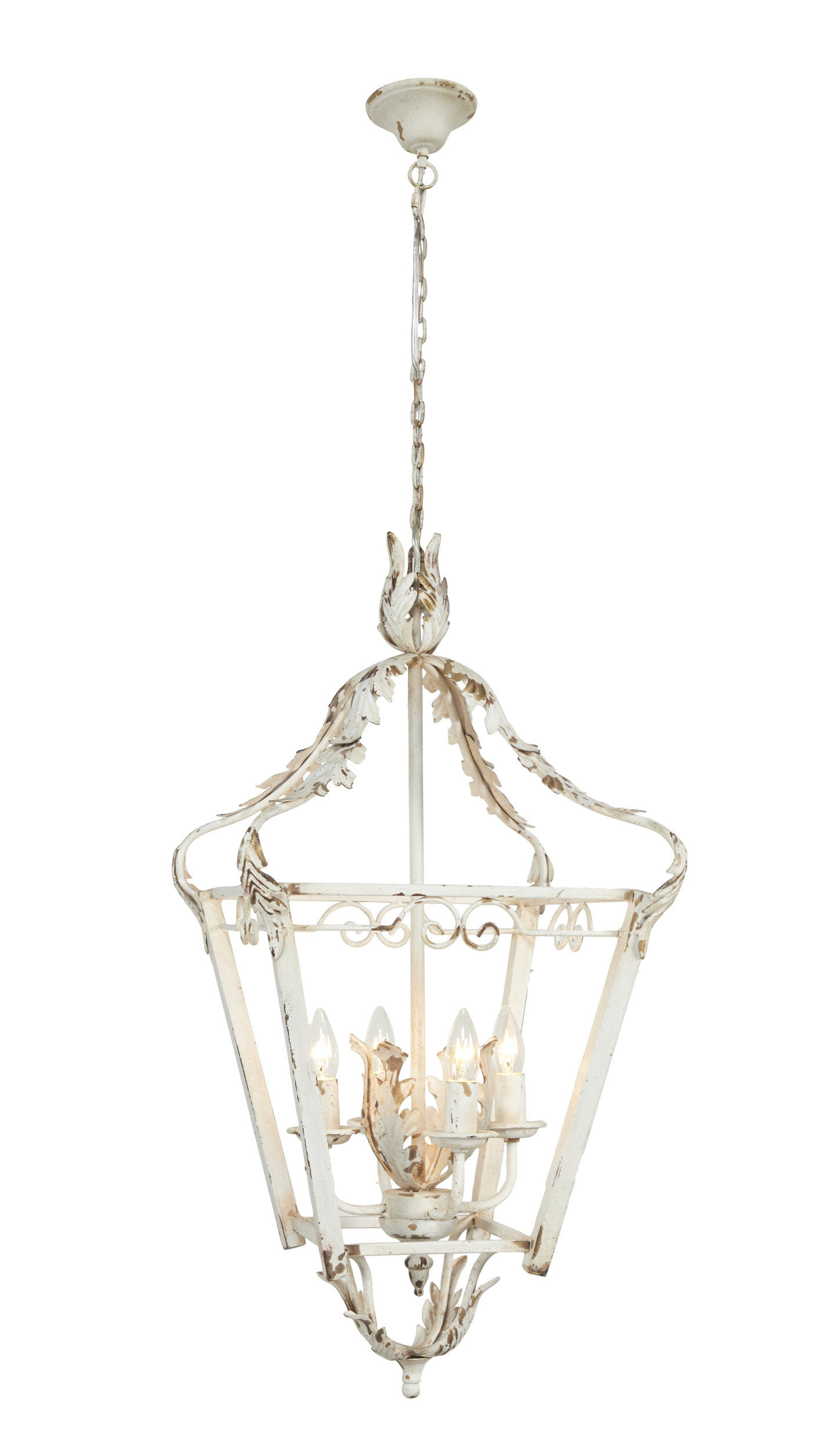 Most Up To Date Conte Small Metal 4 Light Lantern Chandelier For Tiana 4 Light Geometric Chandeliers (View 11 of 25)