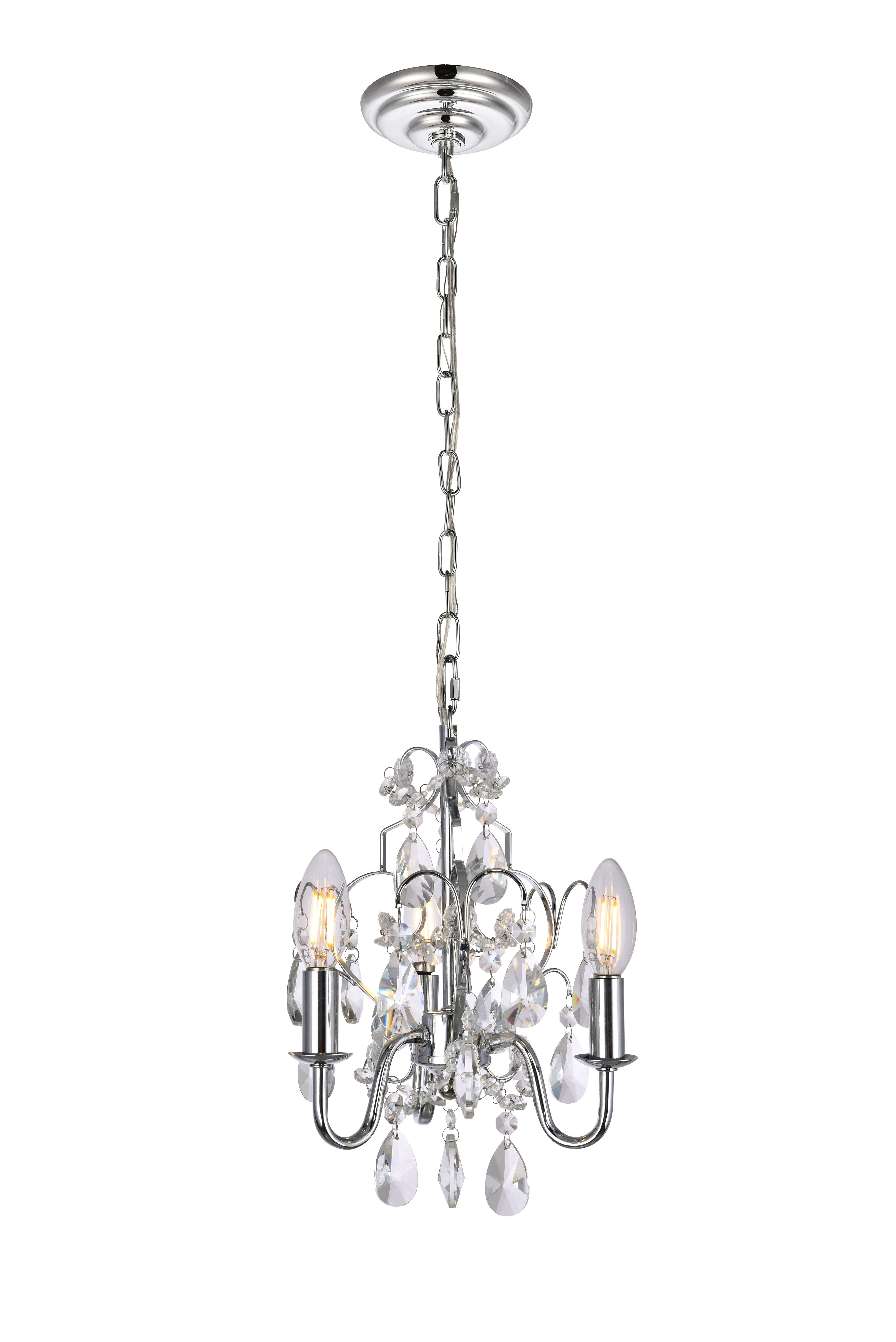 Most Up To Date Dagnall 3 Light Candle Style Chandelier Intended For Aldora 4 Light Candle Style Chandeliers (View 14 of 25)