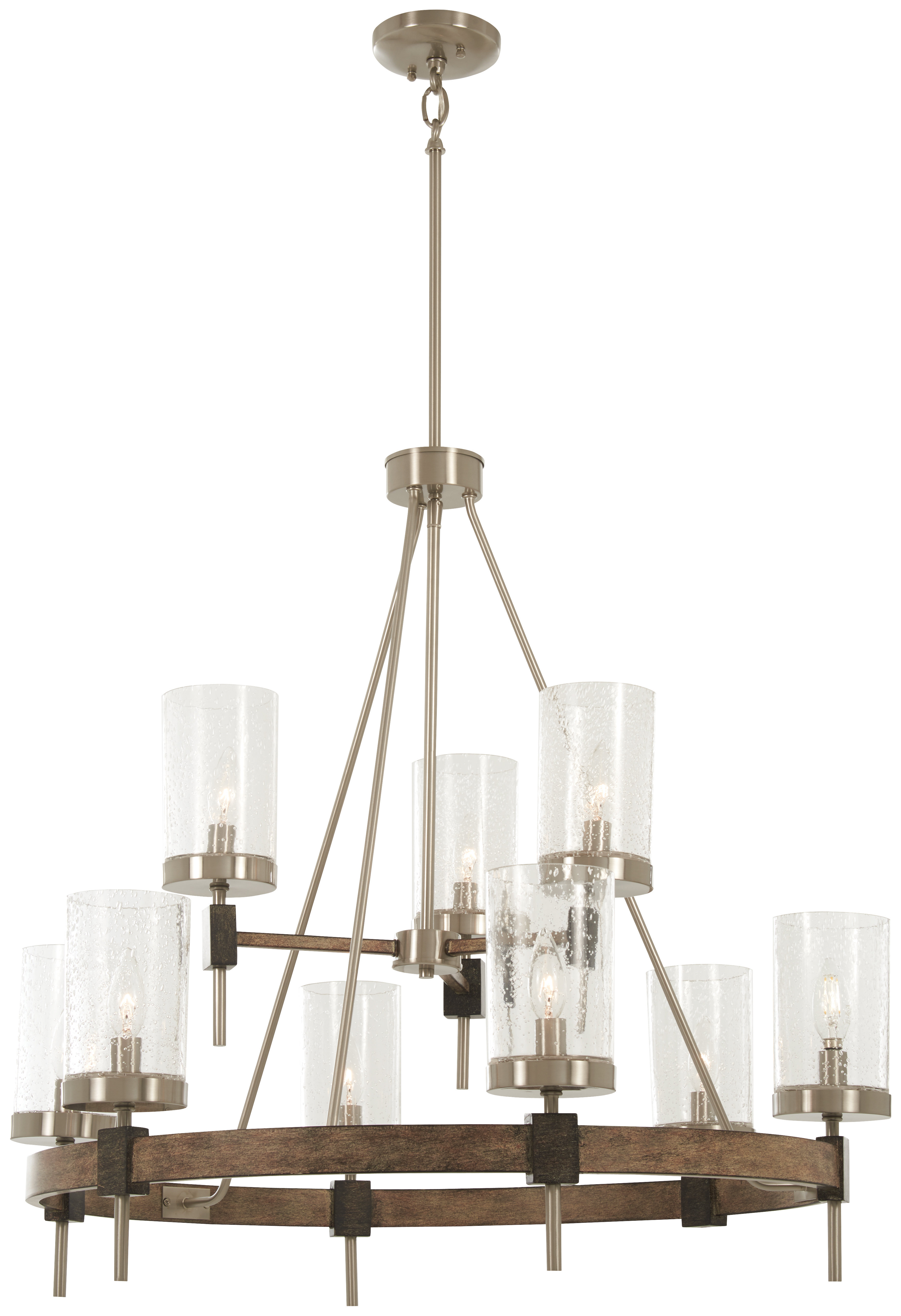 Most Up To Date Expert Wagon Wheel Chandelier Antique Shades Of Light With Regard To Shayla 12 Light Wagon Wheel Chandeliers (View 25 of 25)