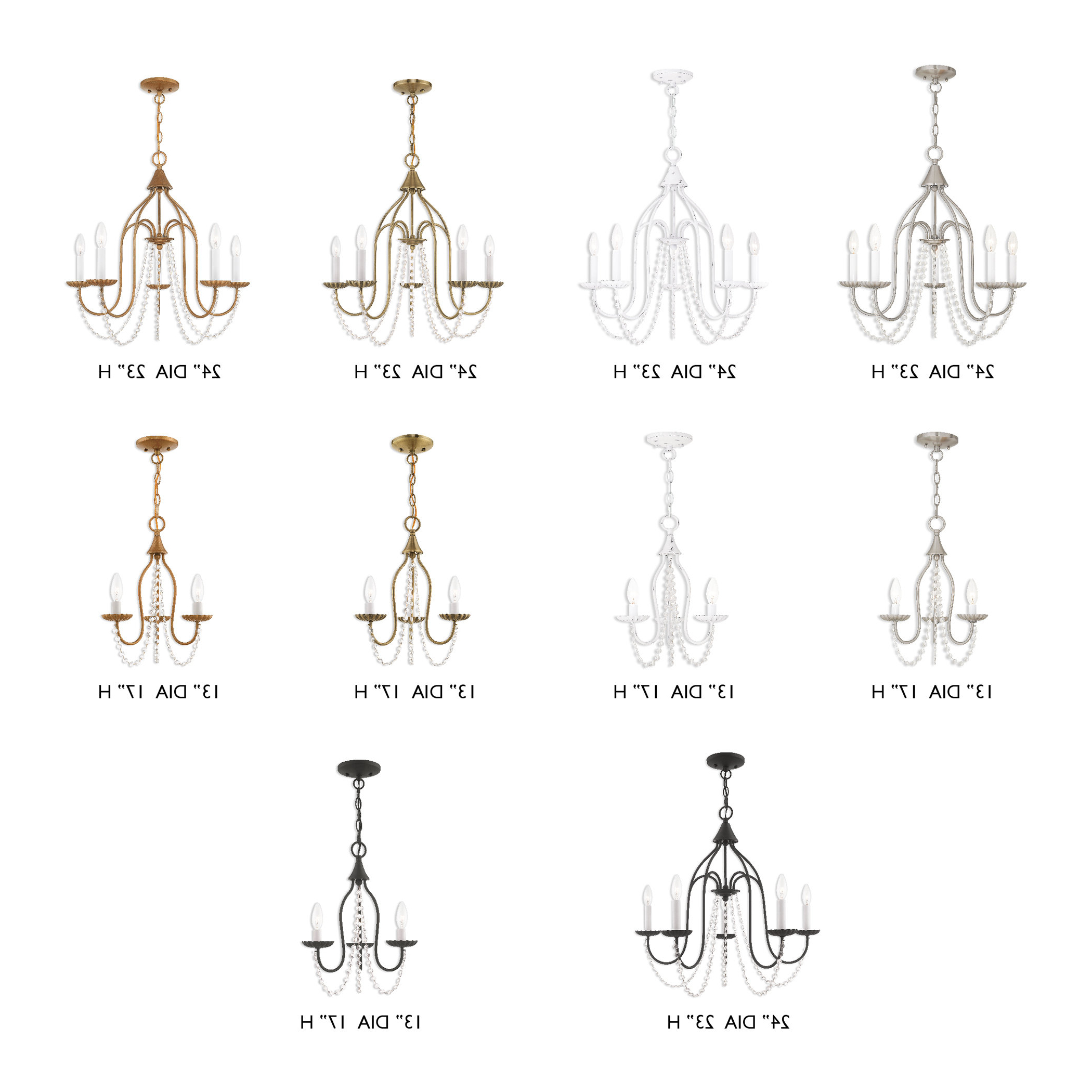 Most Up To Date Florentina 5 Light Candle Style Chandeliers Regarding Ophelia & Co (View 4 of 25)