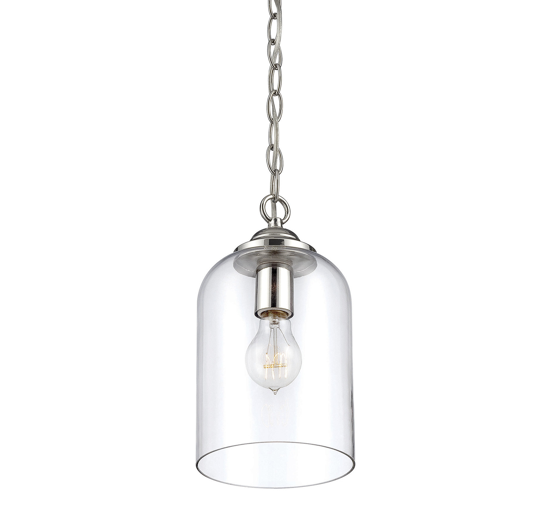 Most Up To Date Goldie 1 Light Single Bell Pendants Within Silber 1 Light Single Bell Pendant (View 13 of 25)