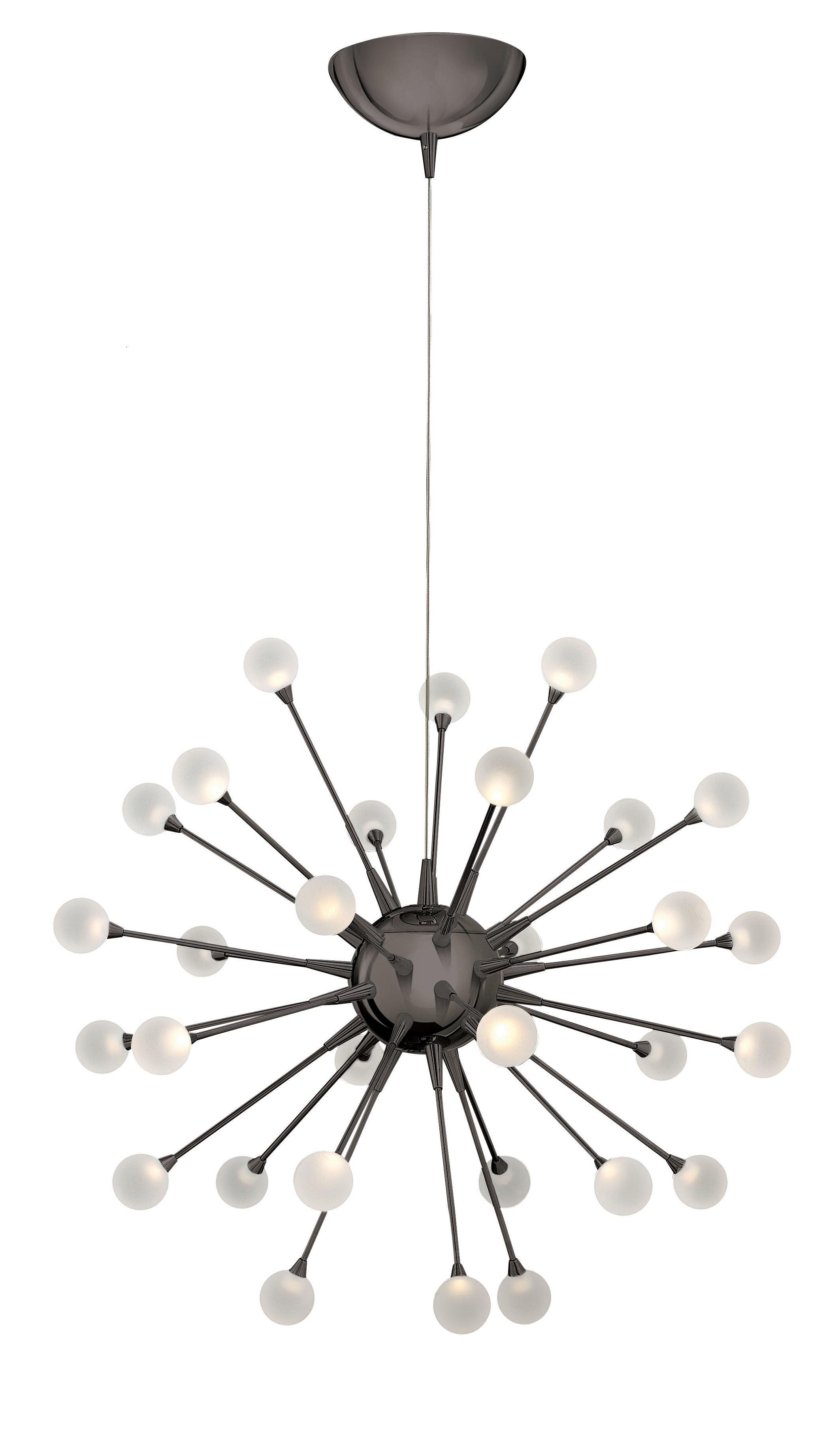 Most Up To Date Impulse 30 Light Led Sputnik Chandelier For Everett 10 Light Sputnik Chandeliers (View 20 of 25)