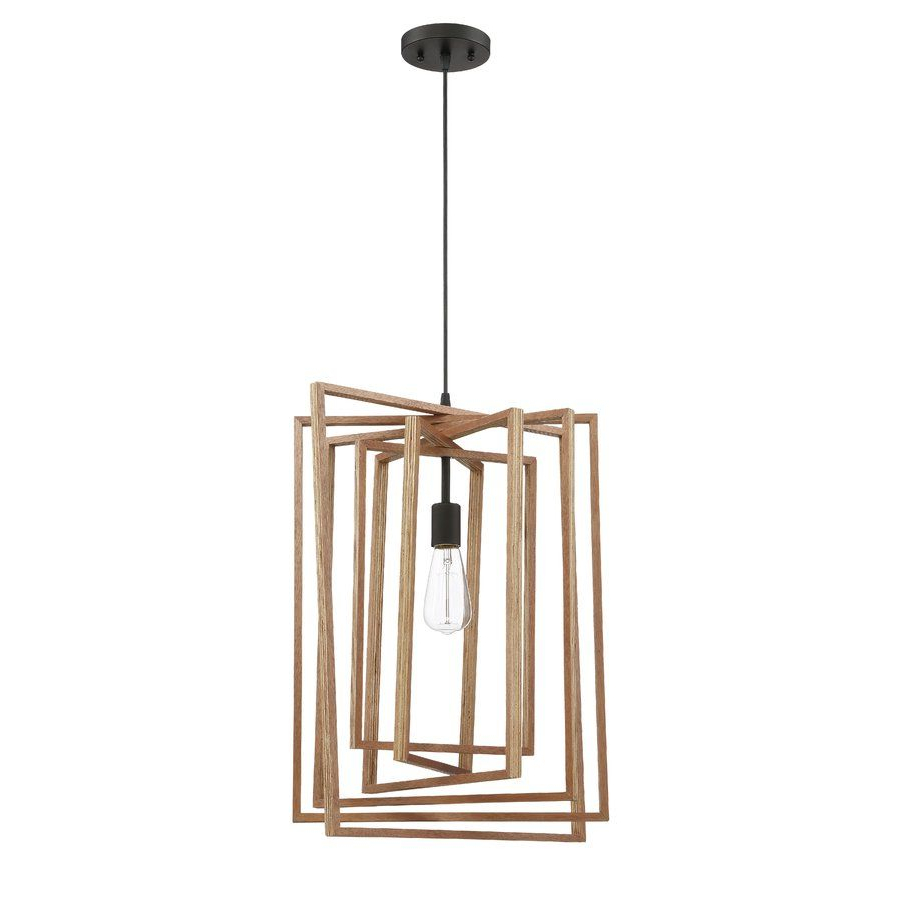 Most Up To Date Karly 1 Light Geometric Pendant $ (View 16 of 25)