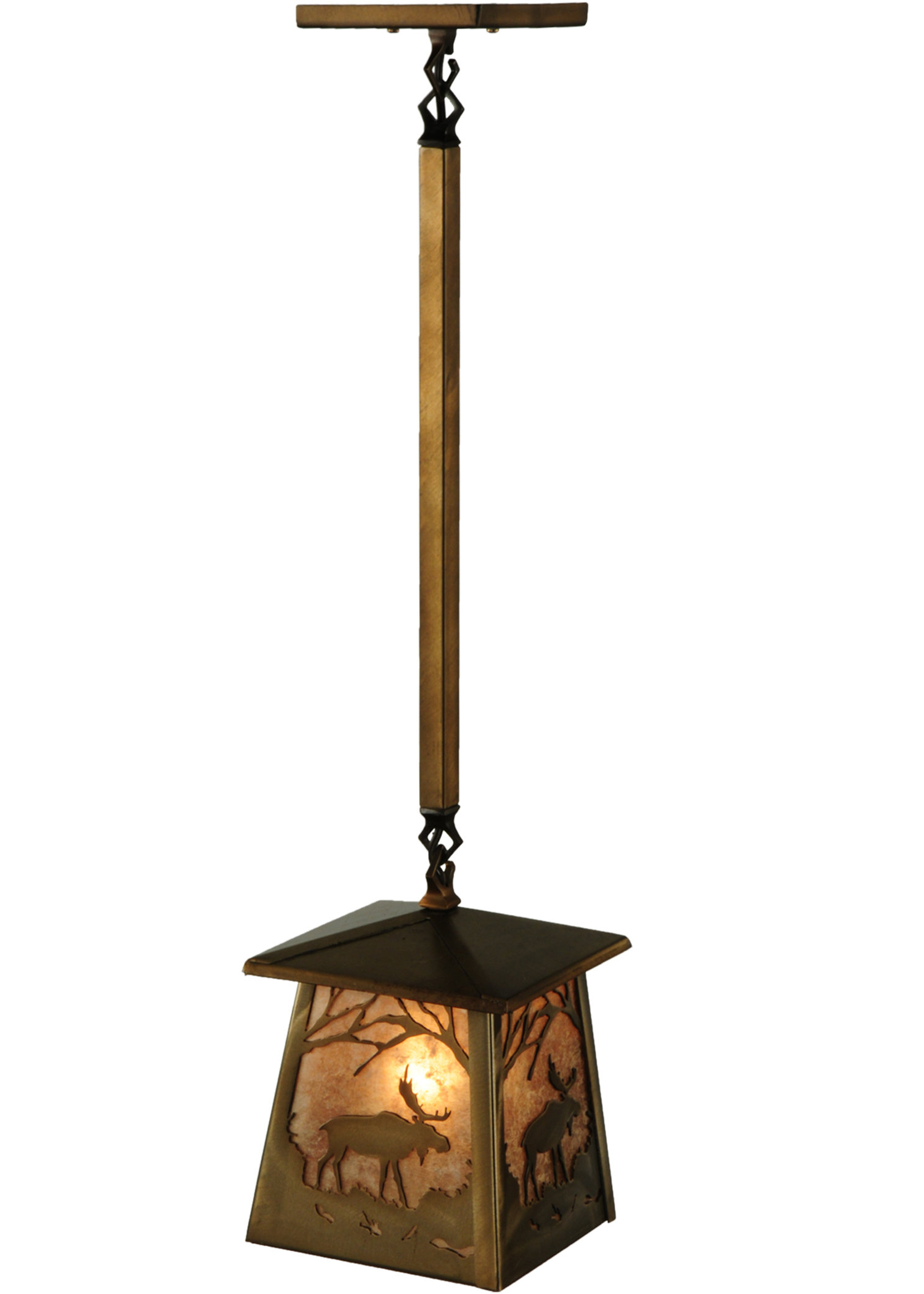 Most Up To Date Louanne 1 Light Lantern Geometric Pendants Inside 1 Light Lantern Geometric Pendant (View 17 of 25)