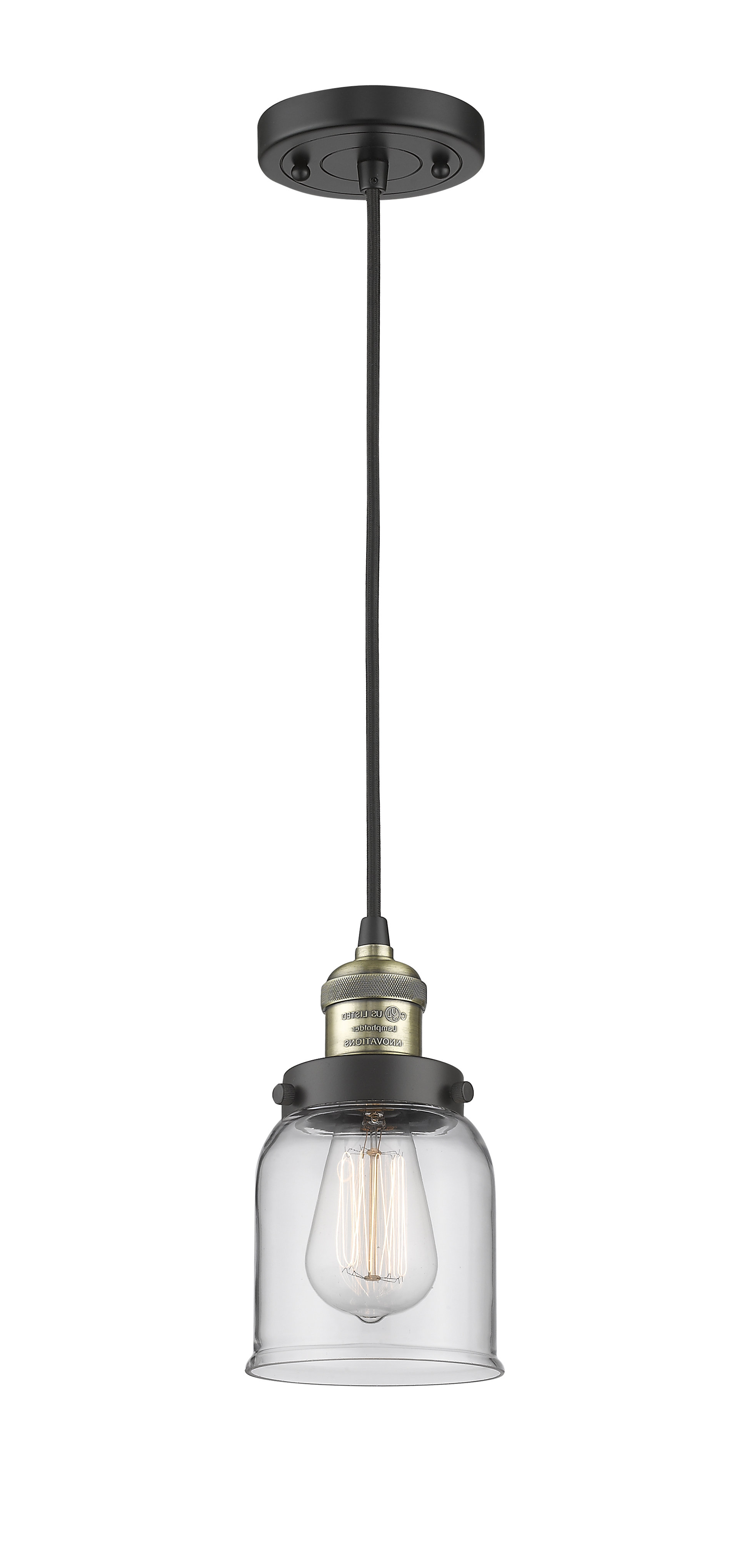 Most Up To Date Roslindale 1 Light Single Bell Pendants Intended For Witherington Glass Bell 1 Light Cone Pendant (View 12 of 25)