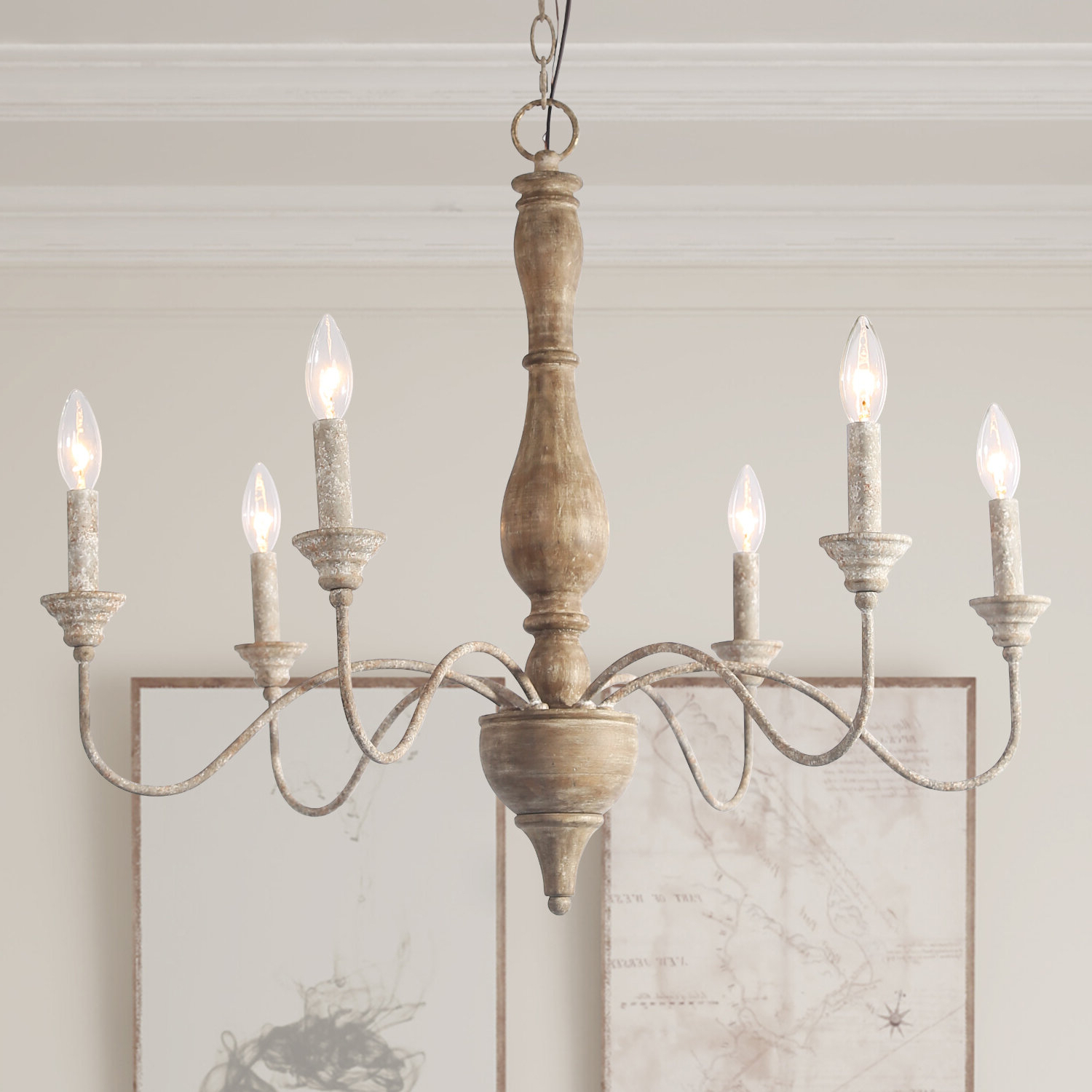 Most Up To Date Sherri 6 Light Chandeliers Intended For Tacoma 6 Light Candle Style Chandelier (View 4 of 25)