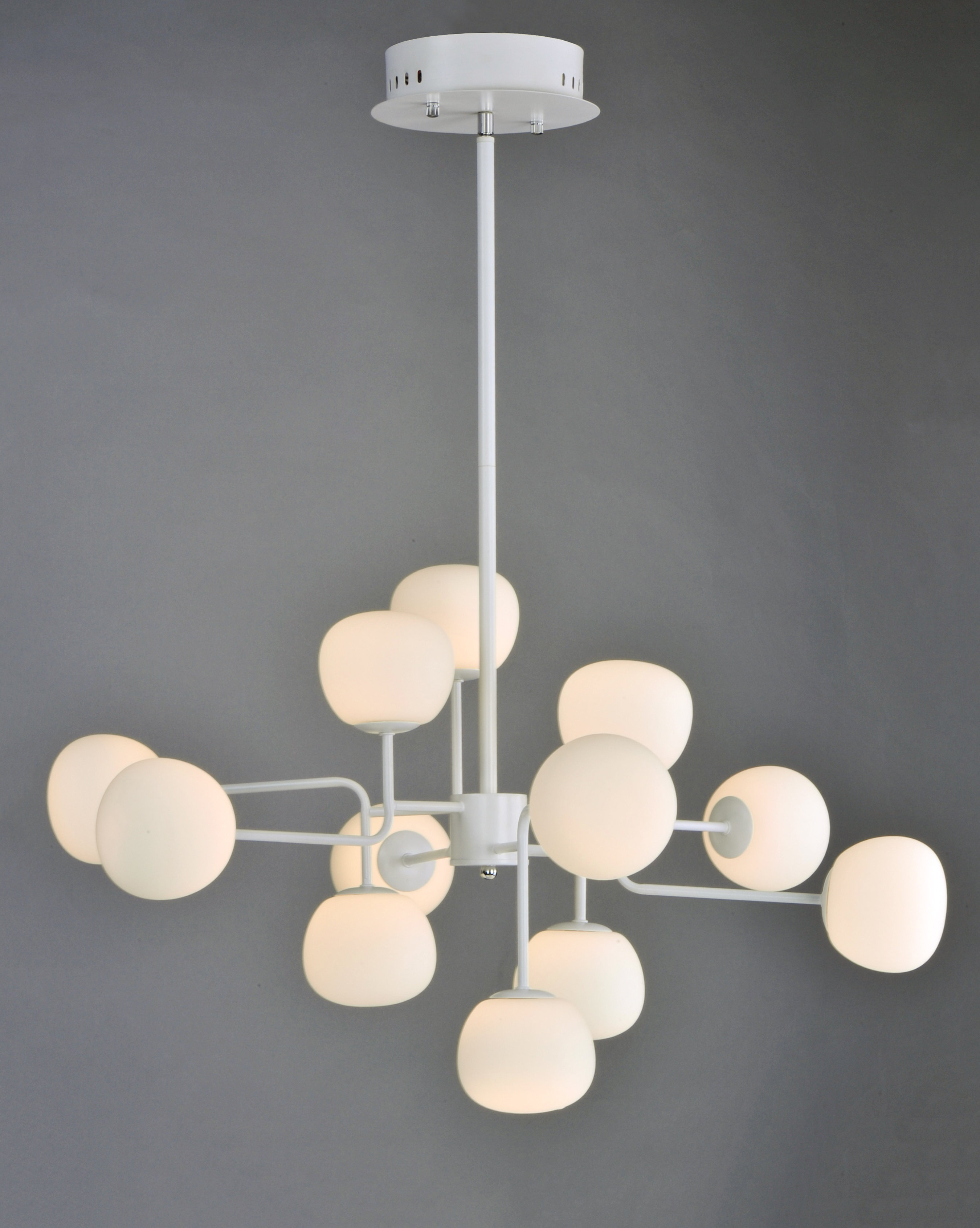 Most Up To Date Vroman 12 Light Sputnik Chandeliers Intended For Edford 12 Light Led Sputnik Chandelier (View 11 of 25)