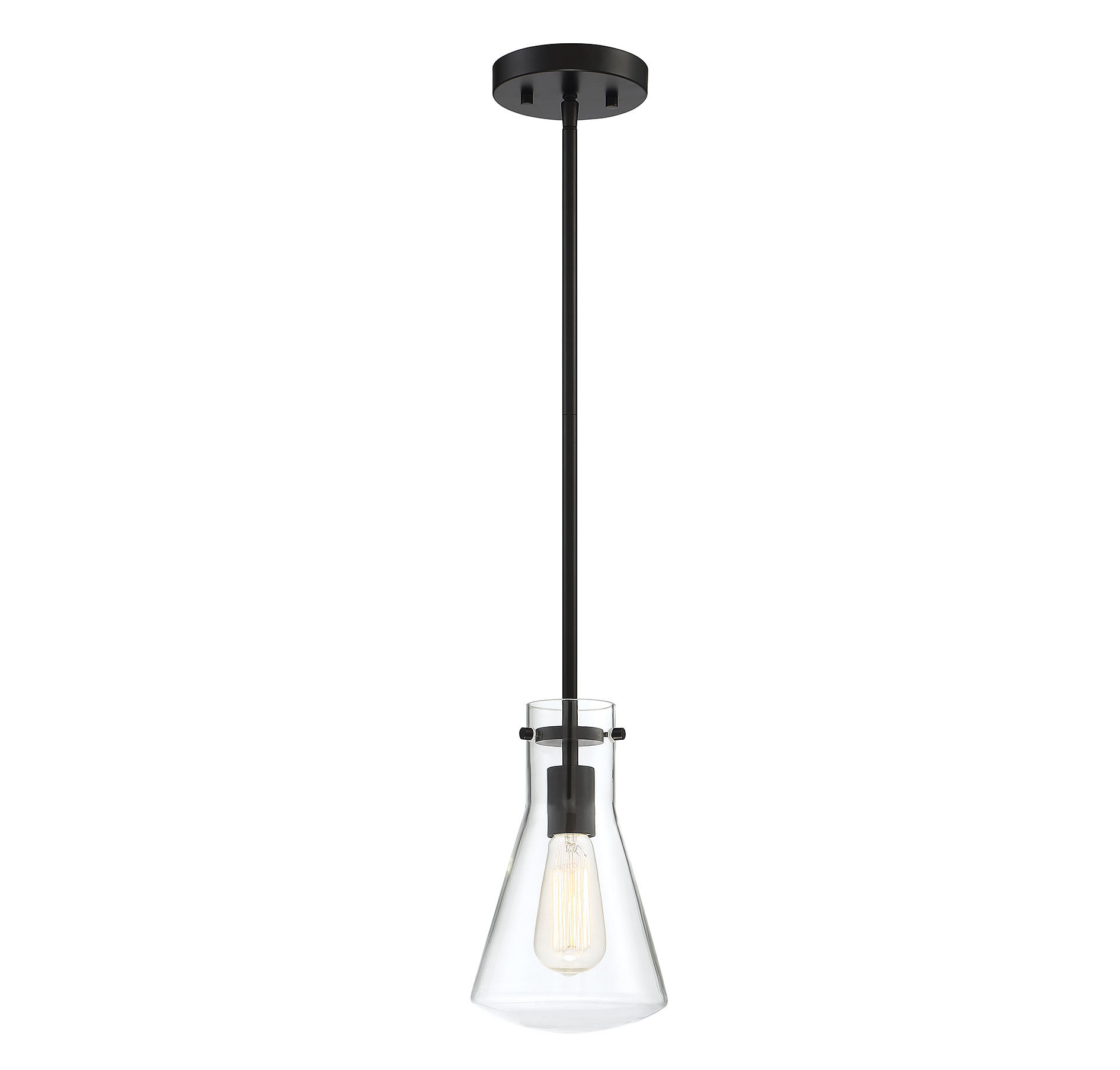 Moyer 1 Light Single Cylinder Pendants Throughout Fashionable Enciso 1 Light Single Cone Pendant (View 8 of 25)