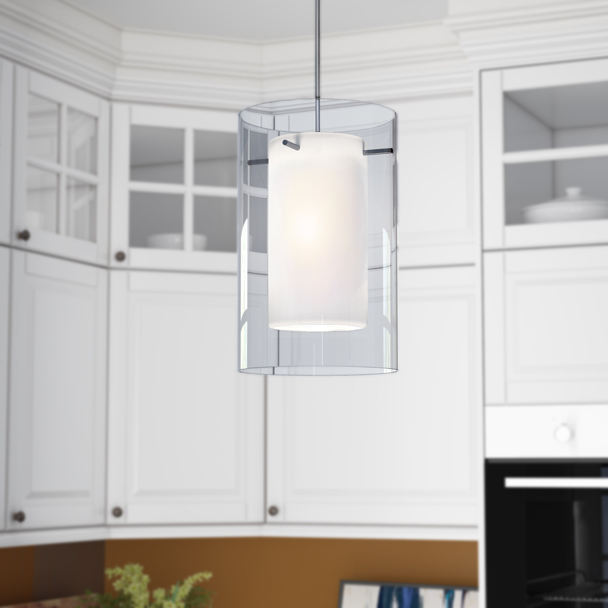 Moyer 1 Light Single Cylinder Pendants With Regard To Best And Newest Annabell 1 Light Single Cylinder Pendant (View 3 of 25)