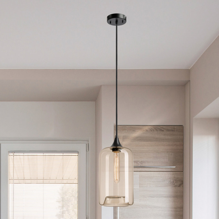 Mudd 1 Light Single Cylinder Pendant Within Current Angelina 1 Light Single Cylinder Pendants (View 16 of 25)
