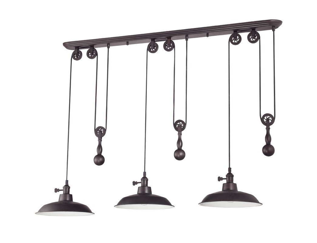 Mulberry Intended For Preferred Martinique 3 Light Kitchen Island Dome Pendants (View 9 of 25)