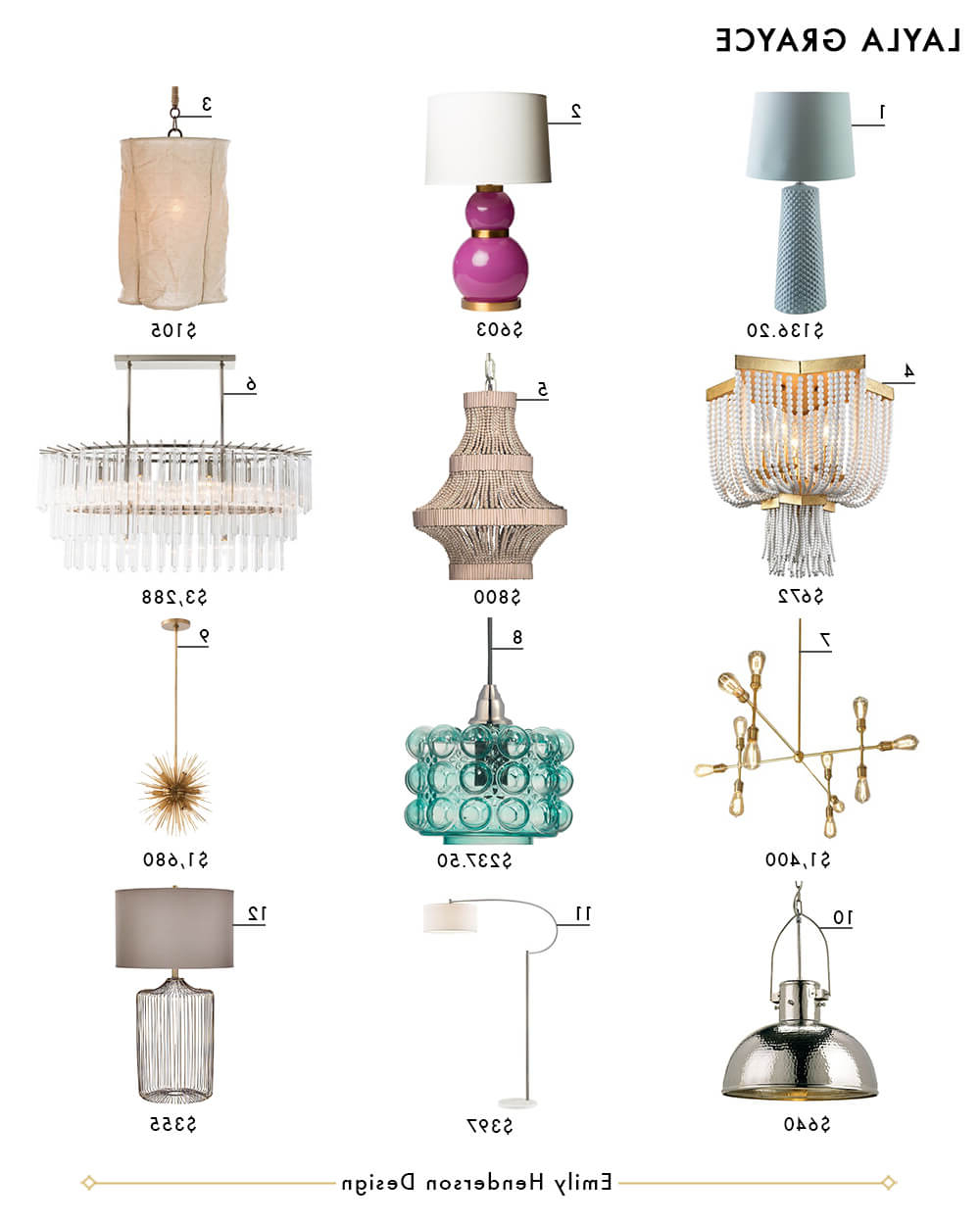 My Favorite 37 Online Lighting Resources – Emily Henderson Within Well Known Jayce 1 Light Cylinder Pendants (View 10 of 25)