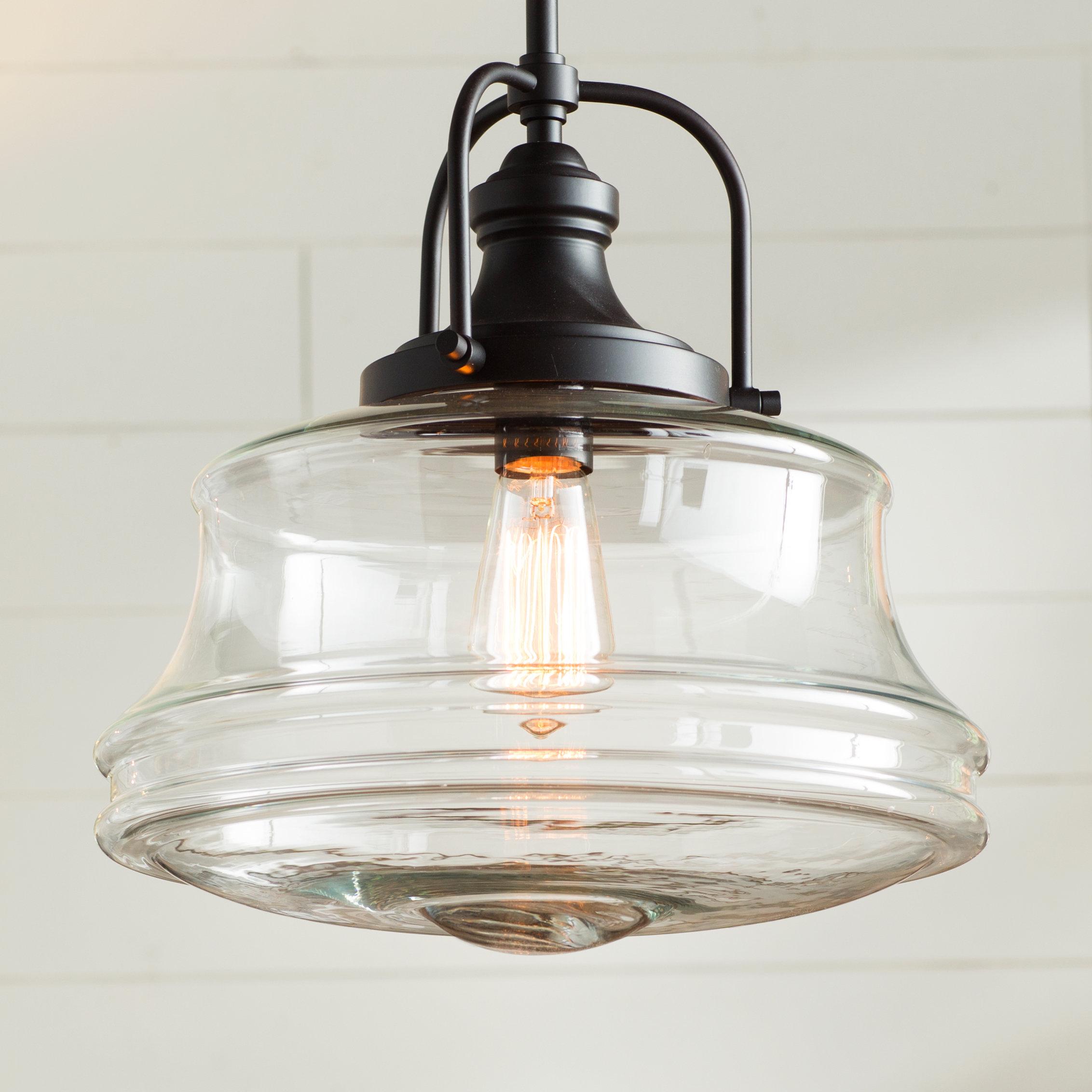 Featured Photo of Nadine 1 Light Single Schoolhouse Pendants