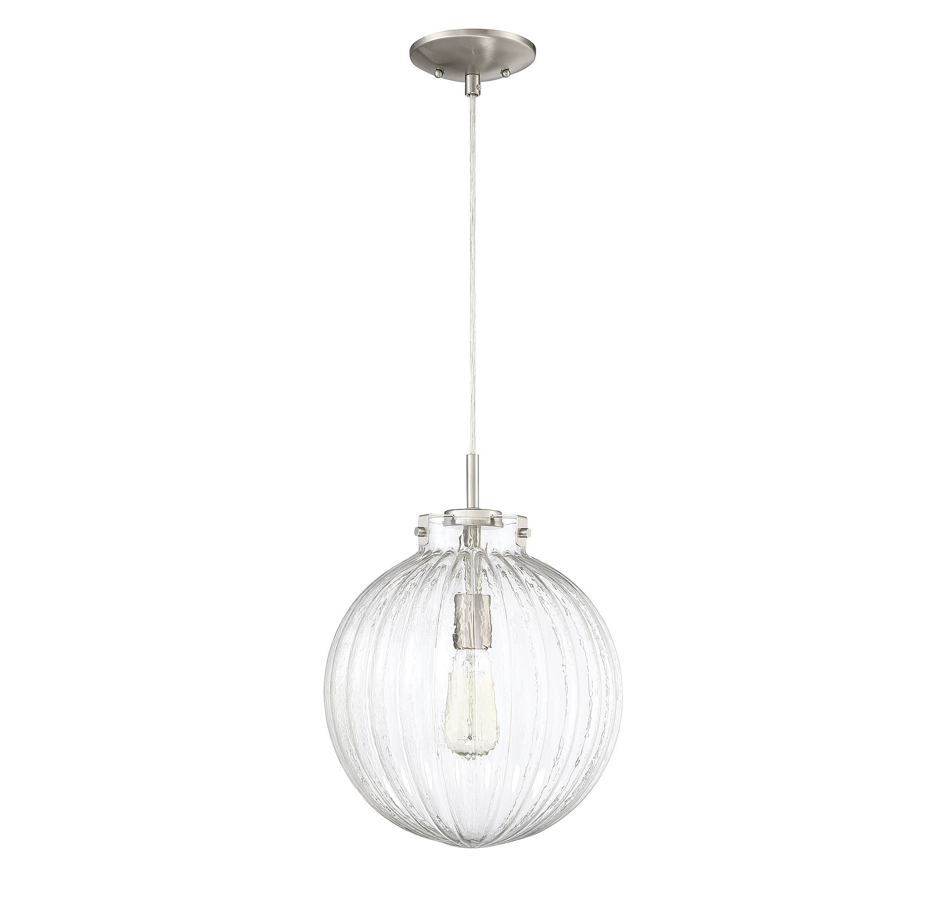 Nevels 1 Light Single Globe Pendant Regarding Fashionable 1 Light Geometric Globe Pendants (View 15 of 25)